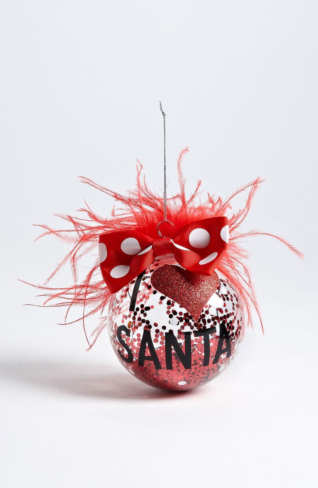 Main Image - Mud Pie 'I Love Santa' Ornament