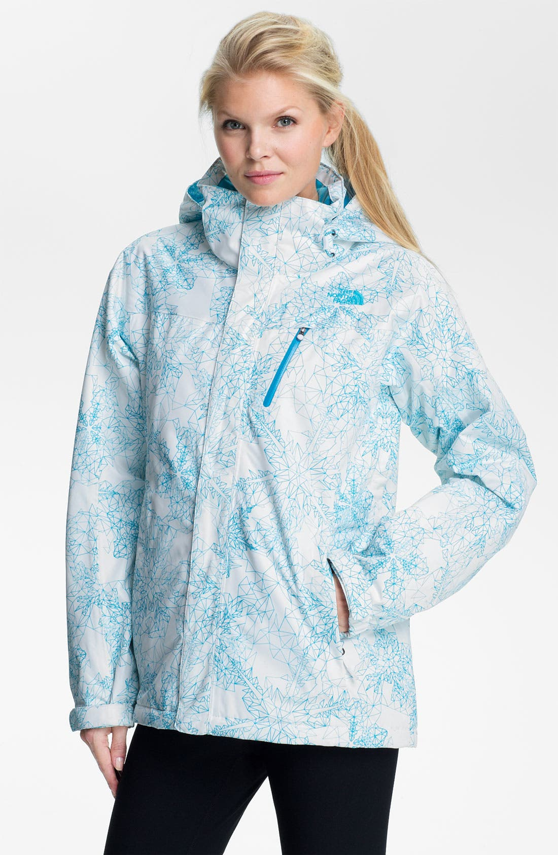 Alternate Image 1 Selected - The North Face 'Snow Cougar' Print Jacket