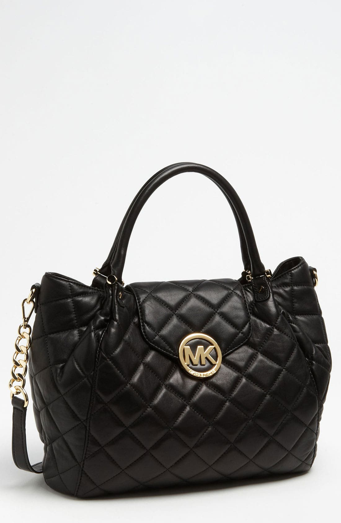 Main Image - MICHAEL Michael Kors 'Fulton - Large' Quilted Tote