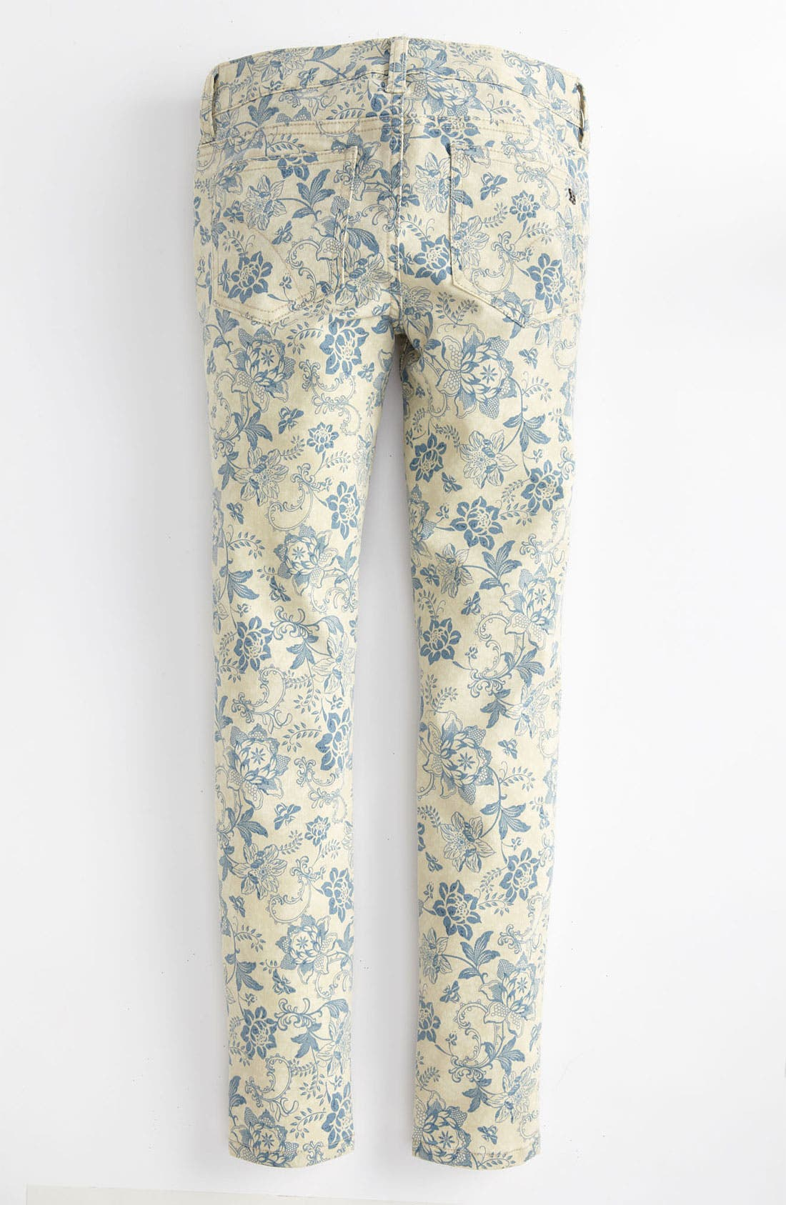Alternate Image 1 Selected - Joe's Print Denim Jeggings (Big Girls)