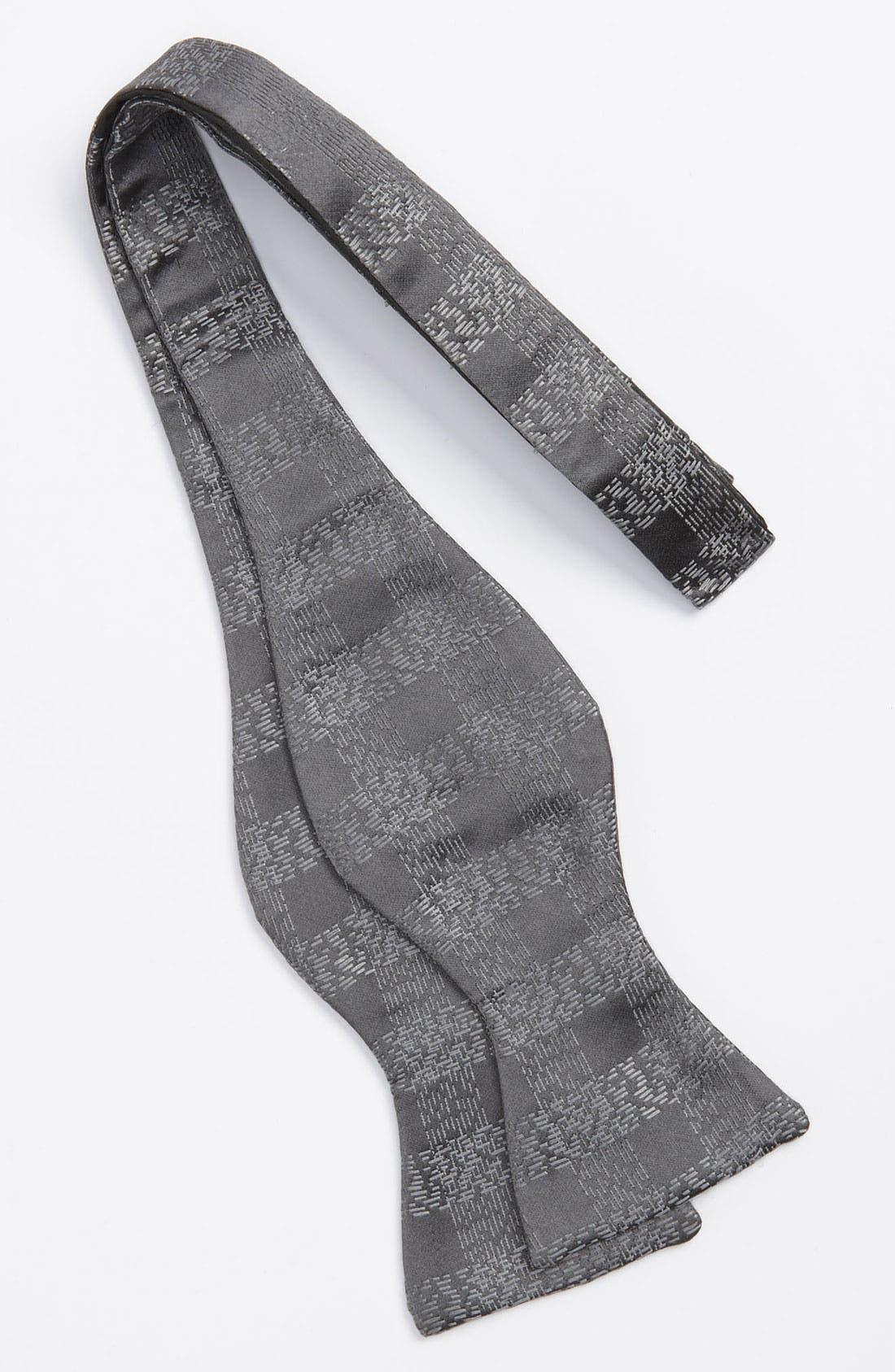 Alternate Image 2  - David Donahue Silk Bow Tie