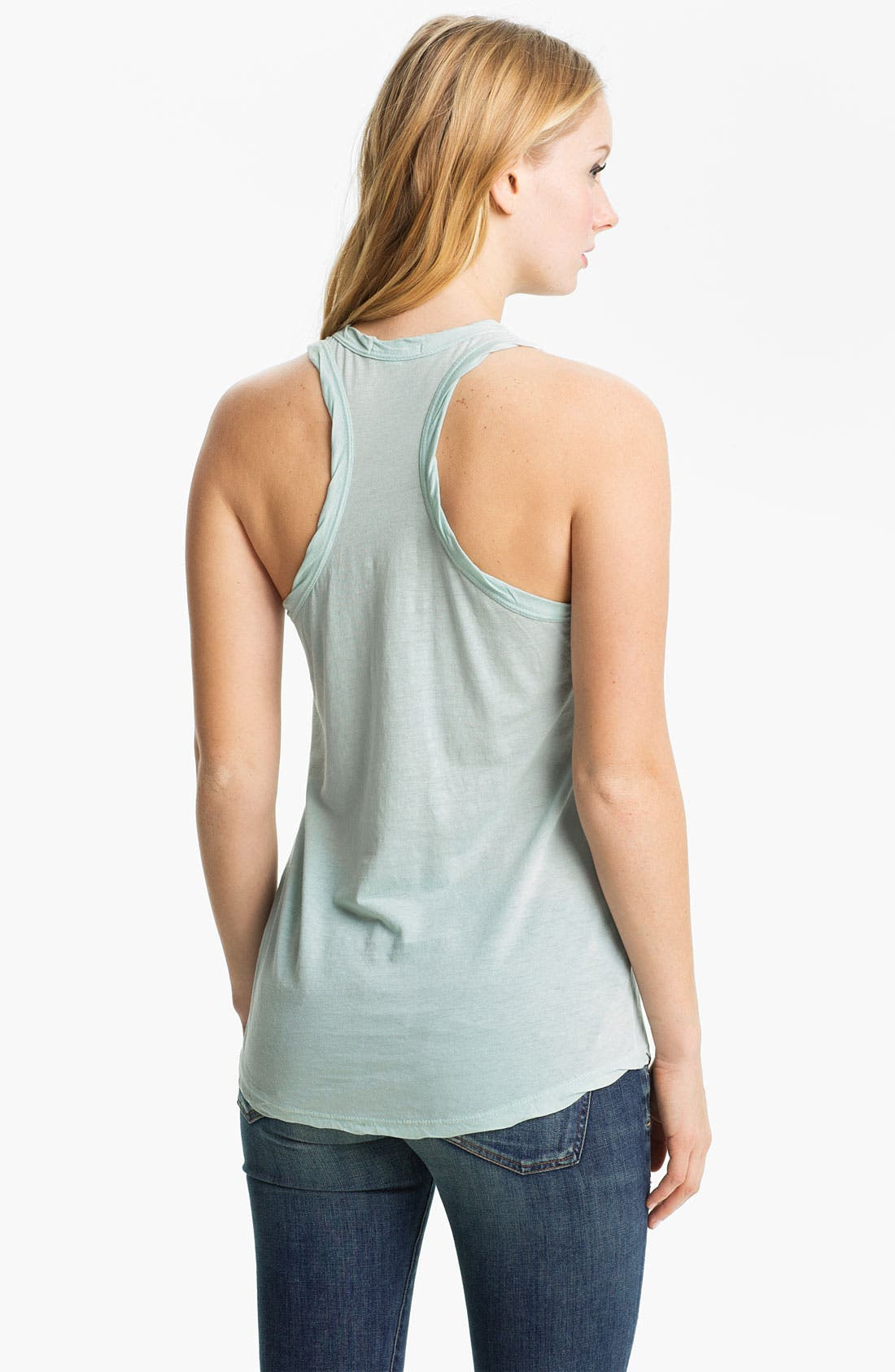 Alternate Image 2  - James Perse Racerback Tank
