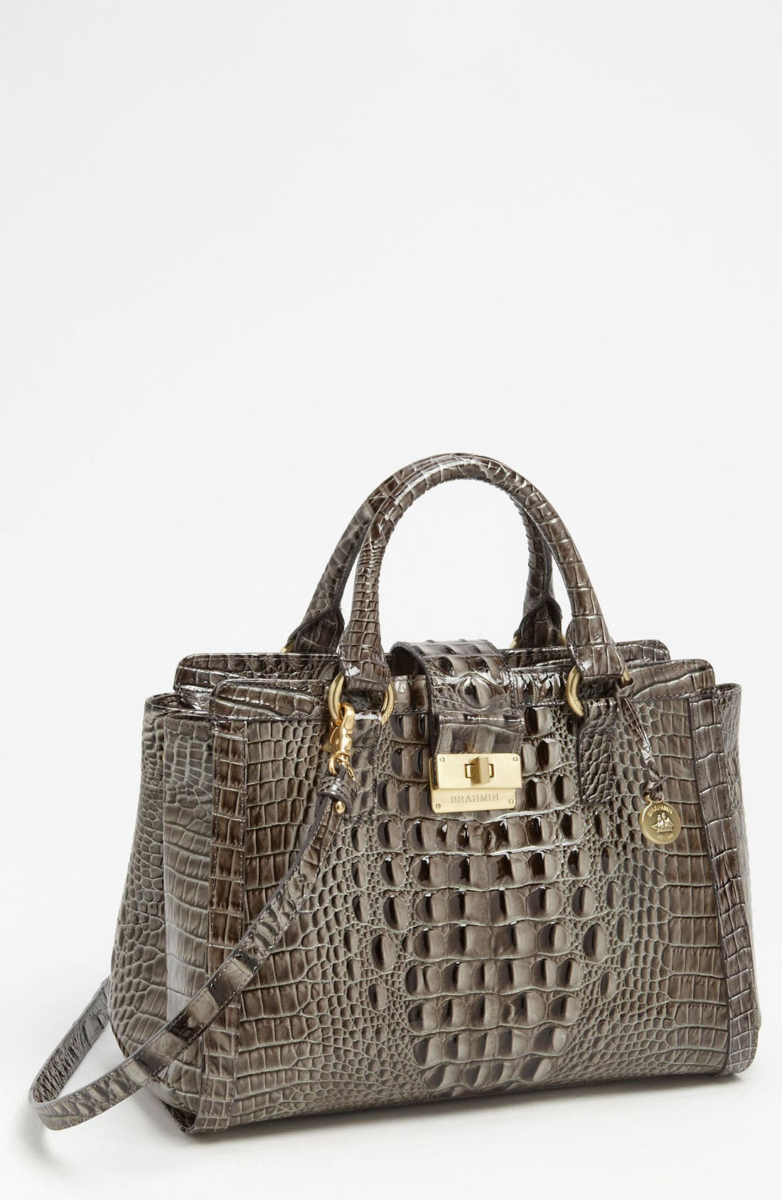 Alternate Image 1 Selected - Brahmin 'Annabelle' Glossy Leather Tote