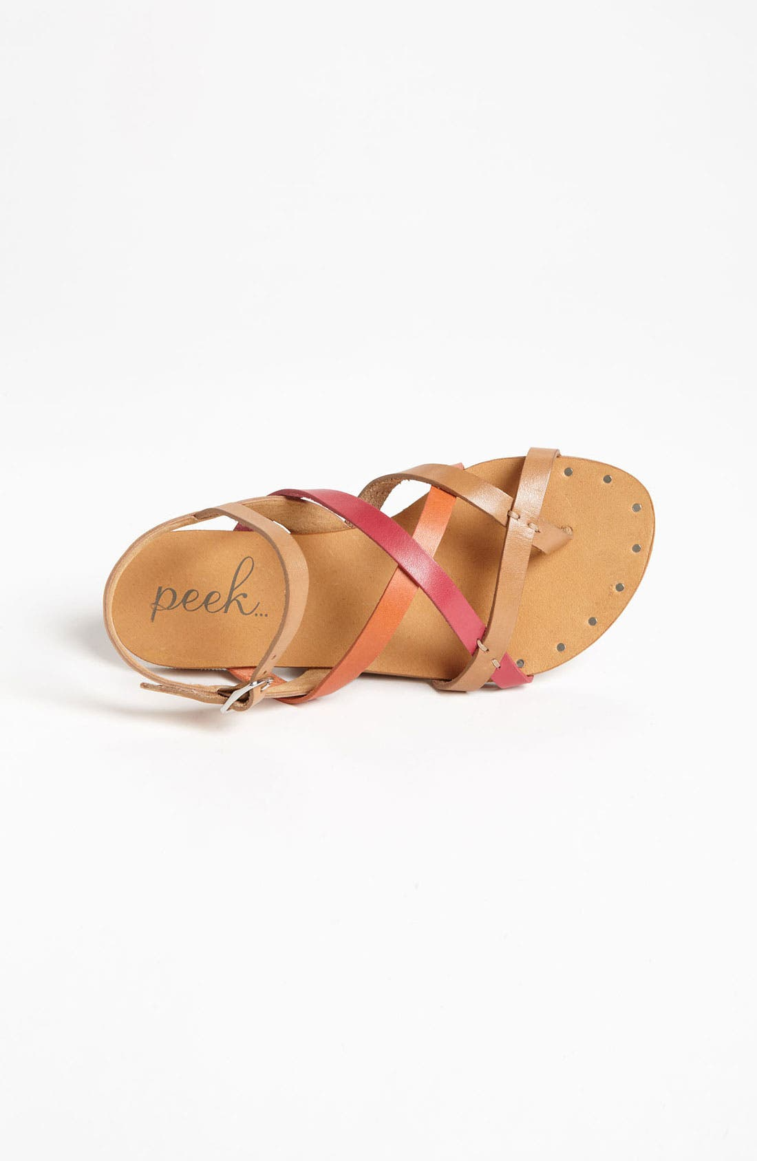 Alternate Image 3  - Peek 'Magnolia' Leather Sandal (Toddler, Little Kid & Big Kid)