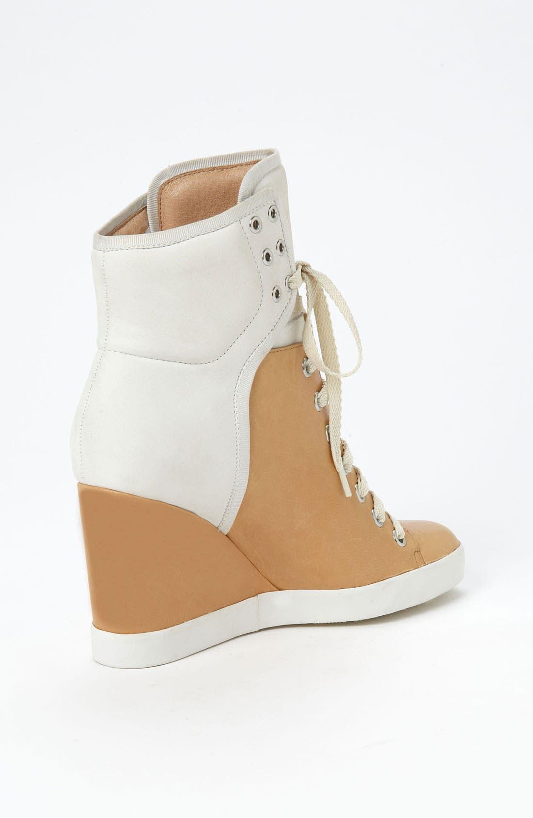 Alternate Image 2  - See by Chloé High Top Wedge Sneaker