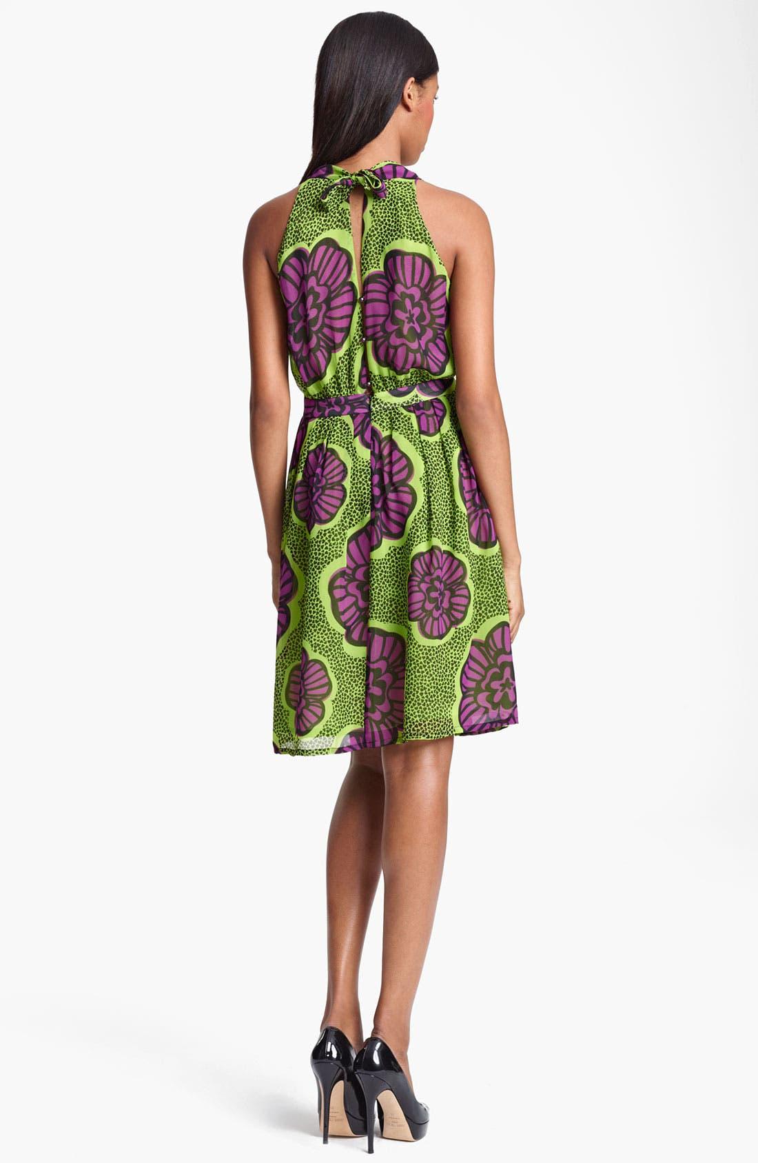Alternate Image 2  - Moschino Cheap & Chic Print Chiffon Dress