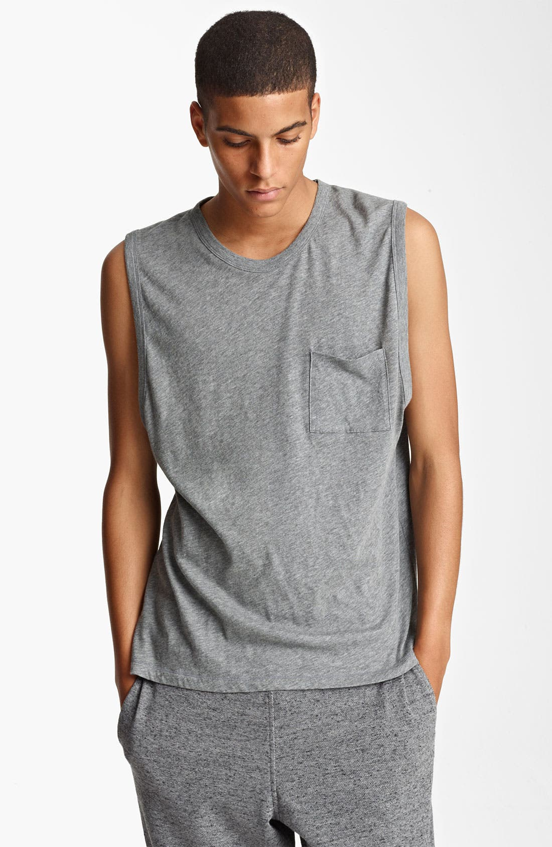 Main Image - T by Alexander Wang Sleeveless T-Shirt