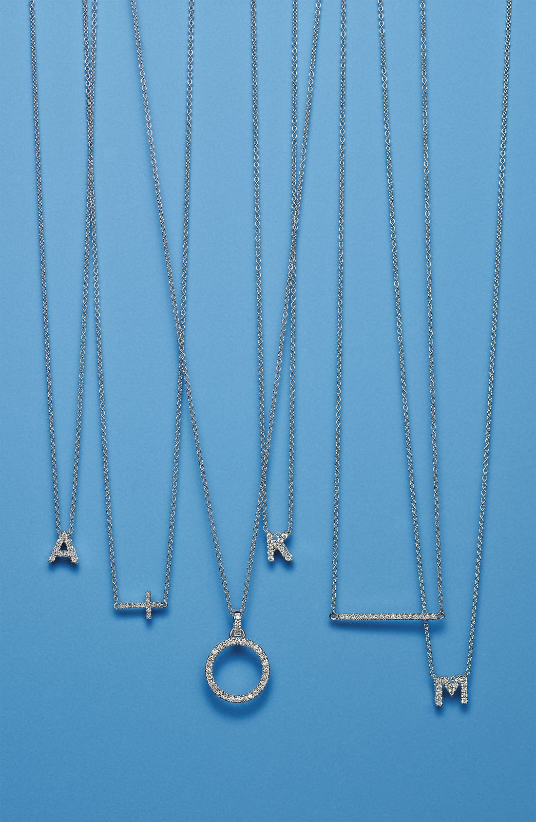Alternate Image 3  - Bony Levy 'Eclipse' Open Circle Diamond Pendant Necklace (Nordstrom Exclusive)