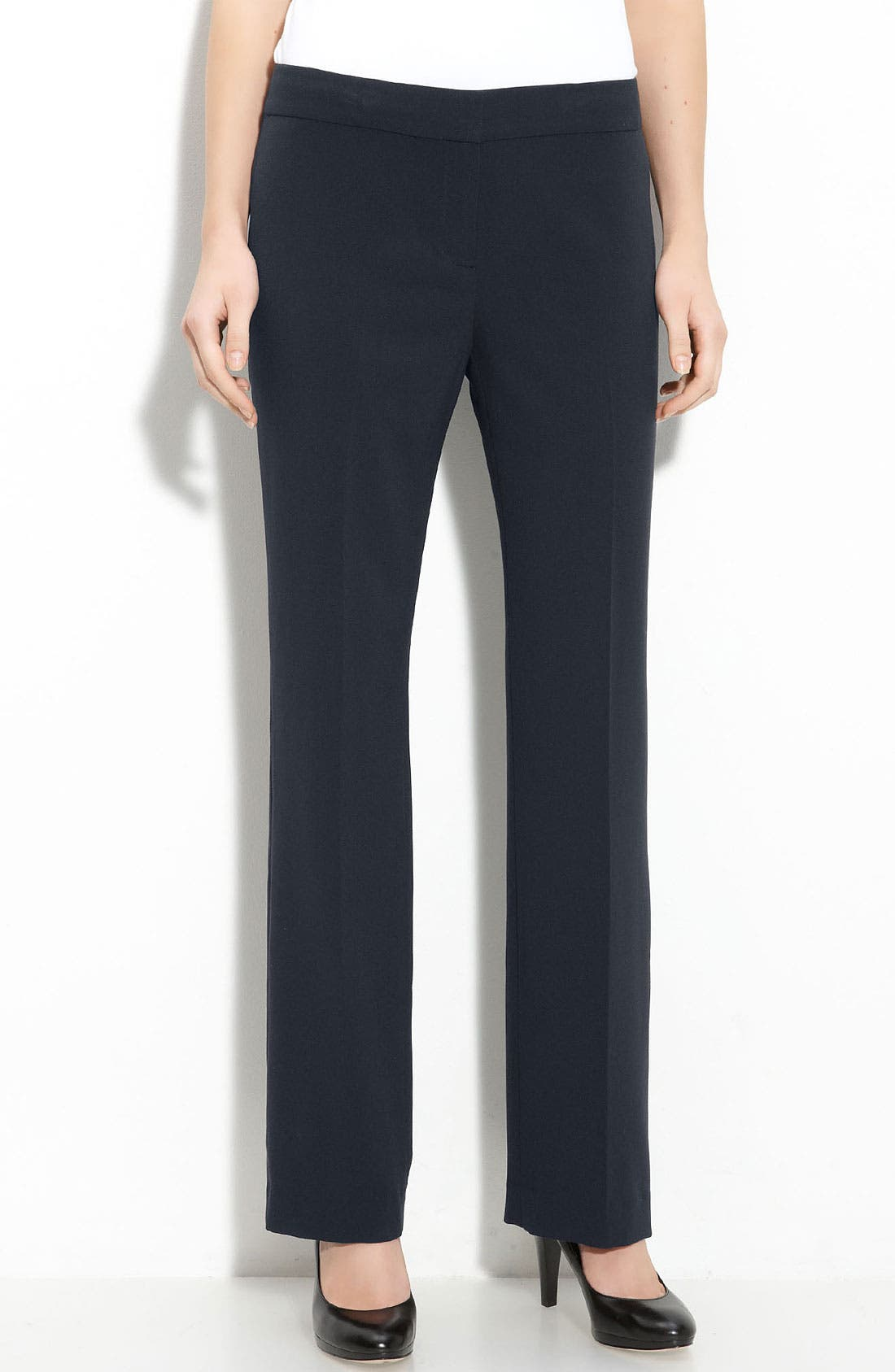 Alternate Image 1 Selected - T Tahari 'Hazel' Straight Leg Pants (Petite)