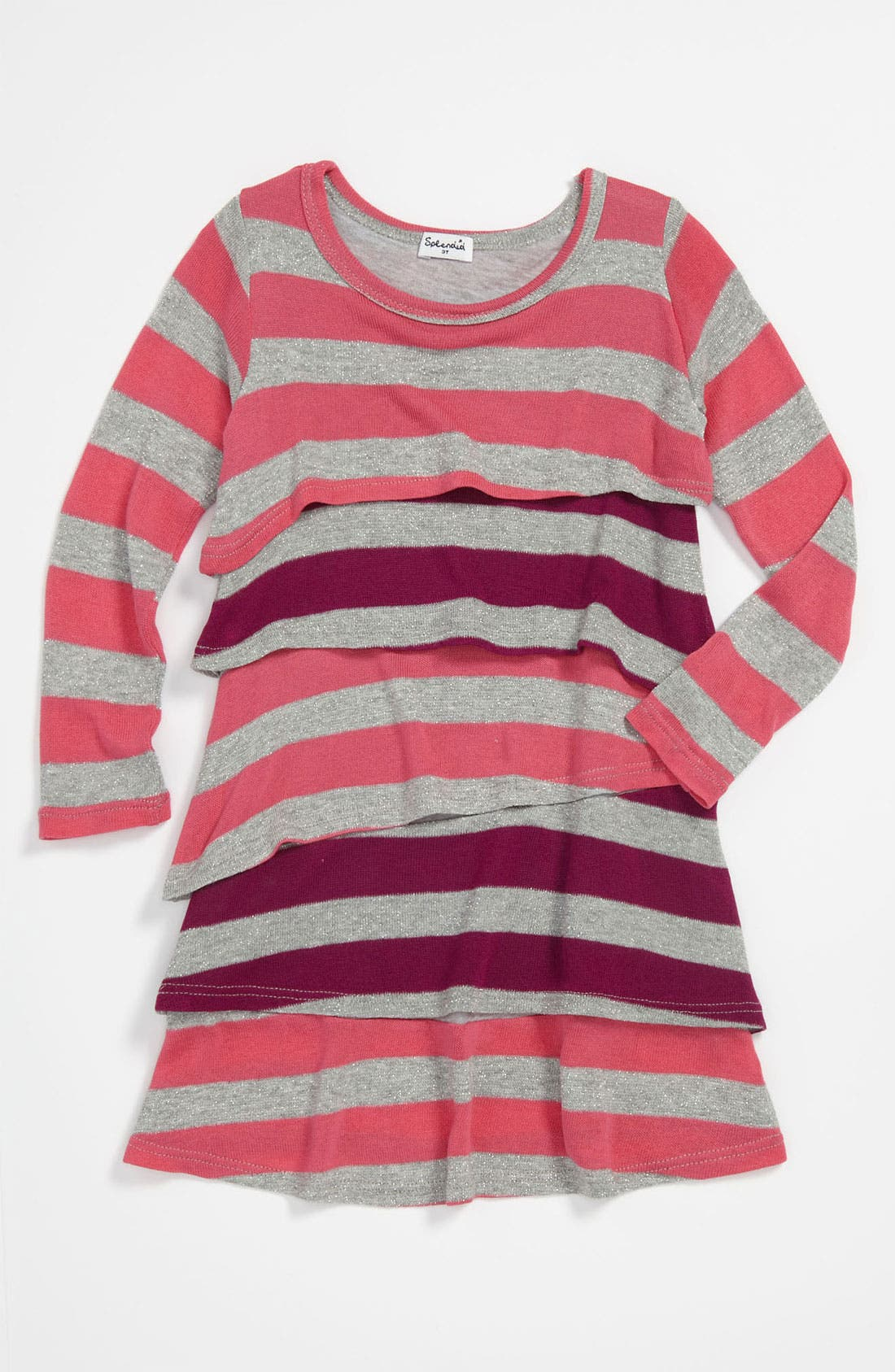 Main Image - Splendid 'Platinum' Stripe Dress (Toddler)