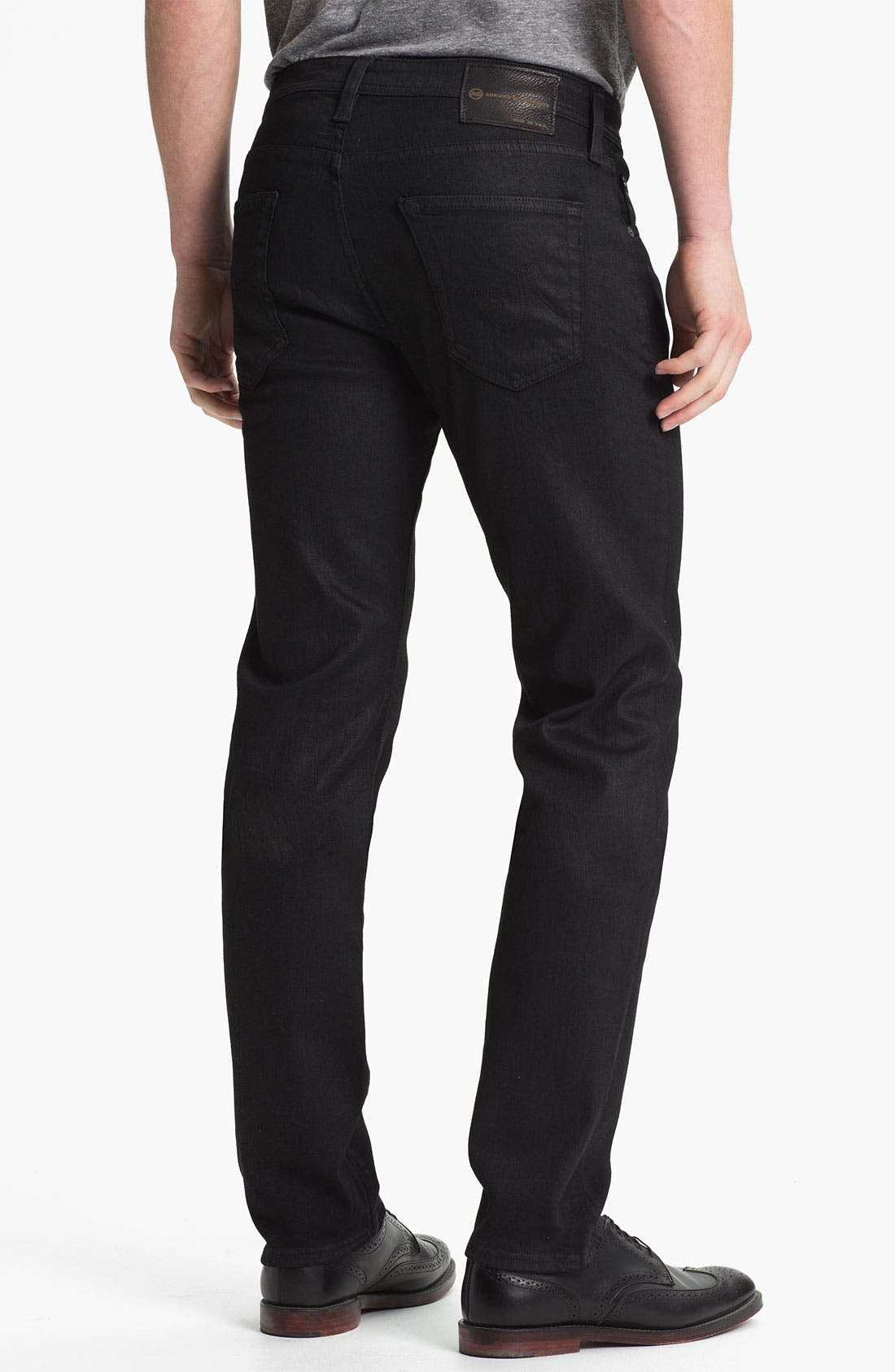 Alternate Image 2  - AG Jeans 'Matchbox Slim' Straight Leg Jeans (Coal)