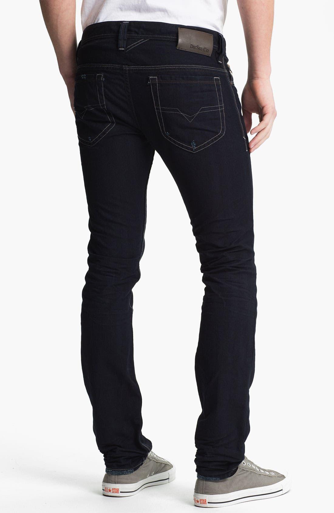 Alternate Image 1 Selected - DIESEL® 'Thanaz' Slim Skinny Leg Jeans (0601K)