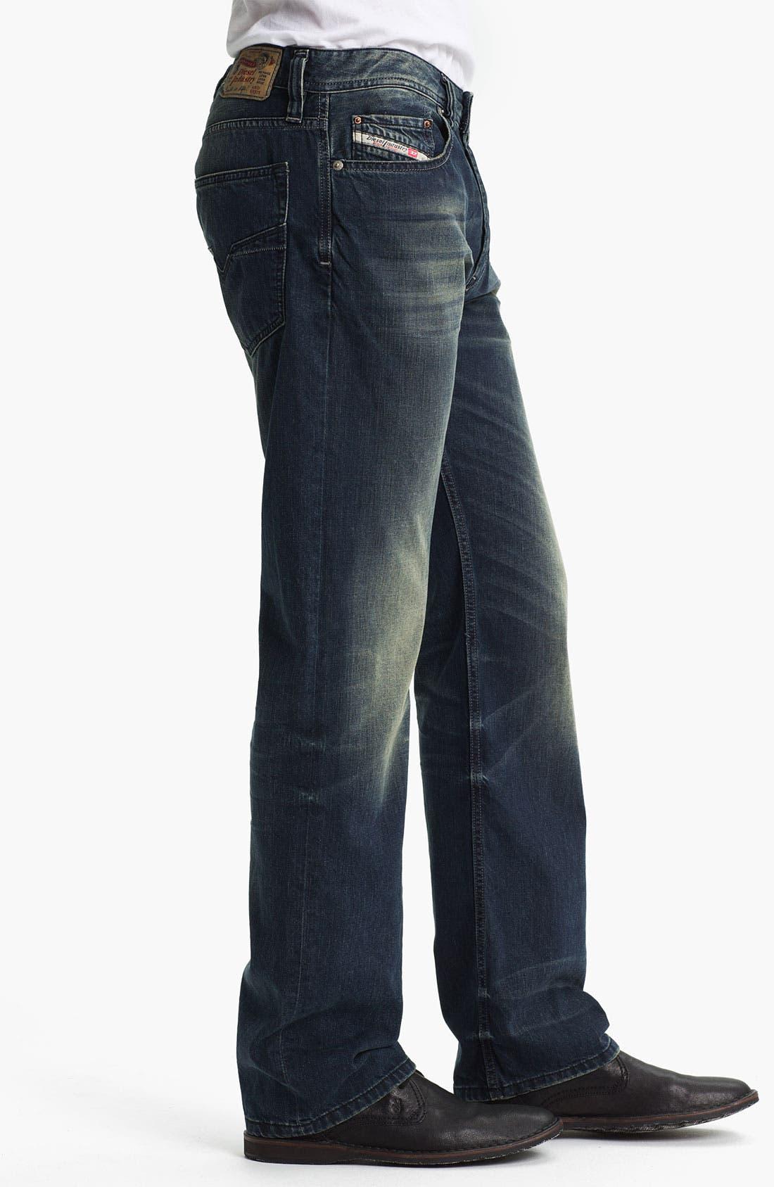 Alternate Image 3  - DIESEL® 'Larkee' Straight Leg Jeans (0807U)
