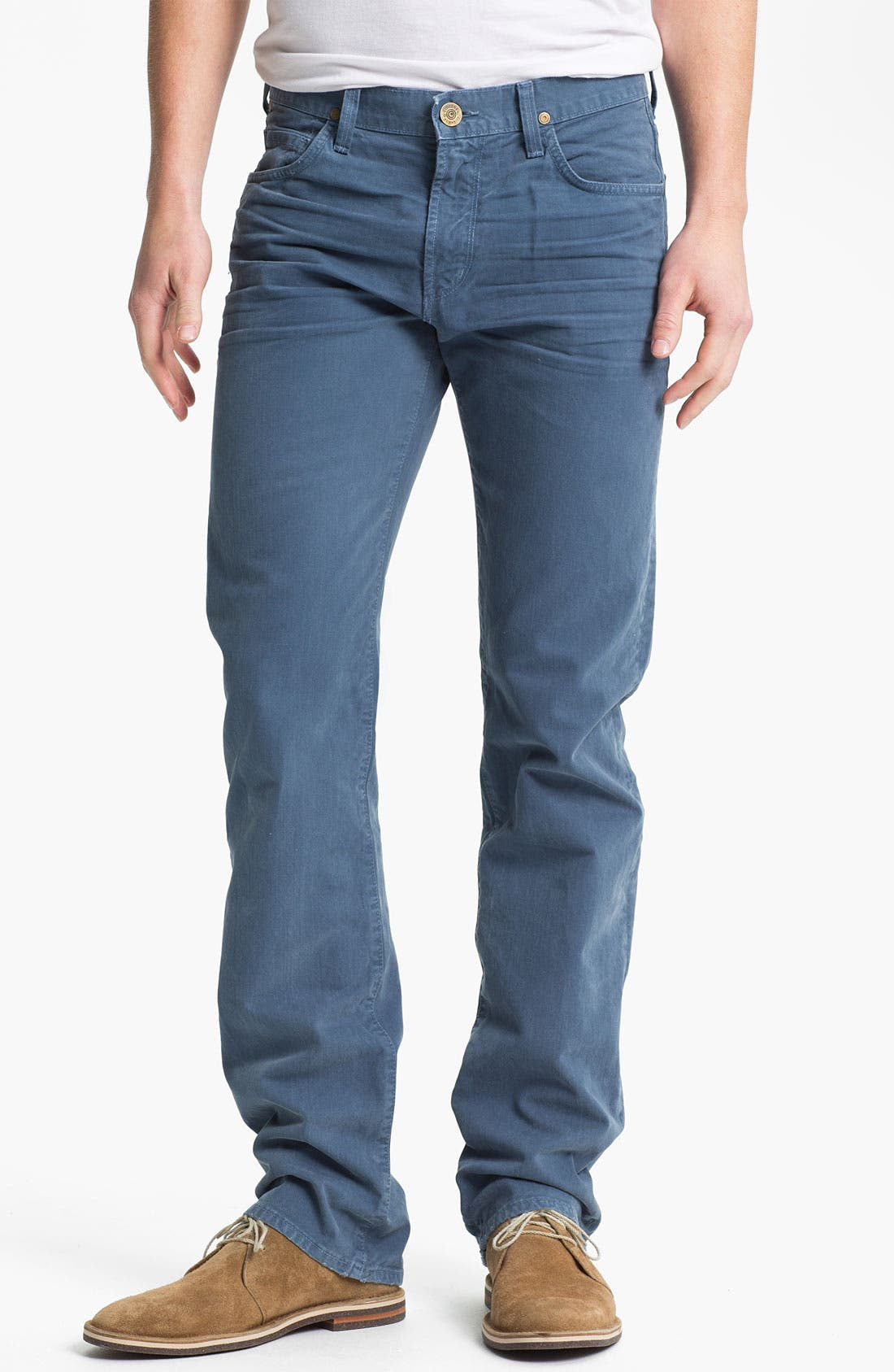 Alternate Image 1 Selected - Citizens of Humanity 'Sid' Straight Leg Jeans (Spruce) (Online Only)