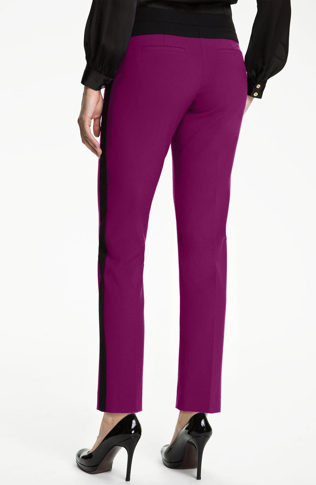 Alternate Image 2  - Vince Camuto Colorblock Pants (Petite)