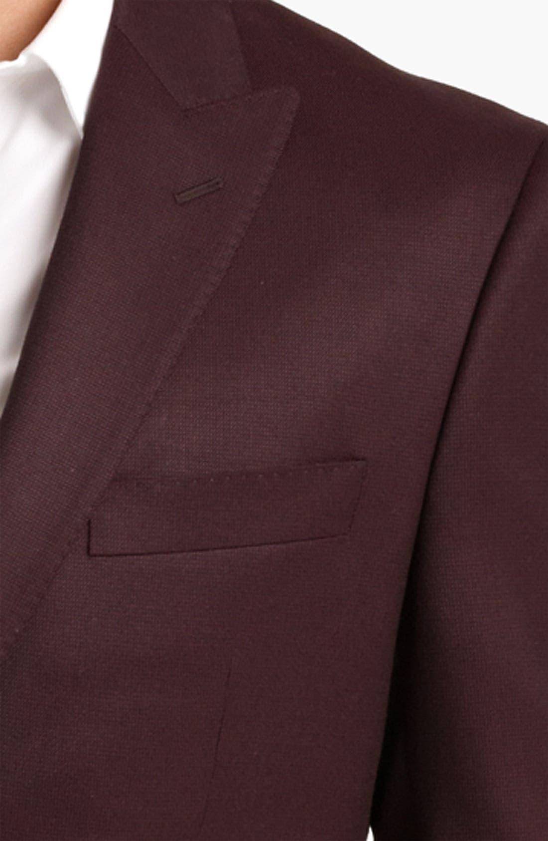 Alternate Image 3  - Versace Trim Fit Blazer