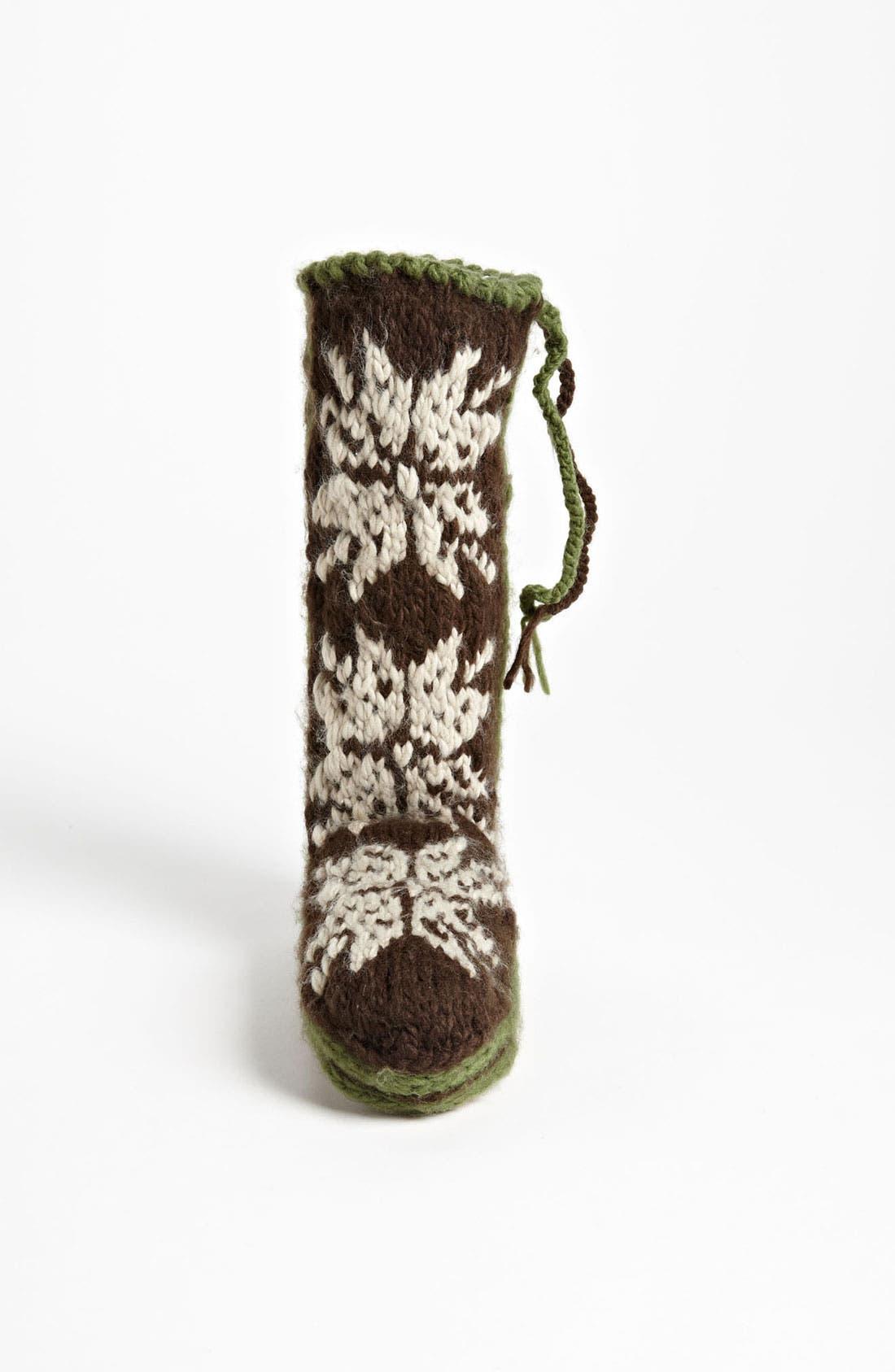 Alternate Image 3  - Woolrich 'Chalet' Slipper Socks