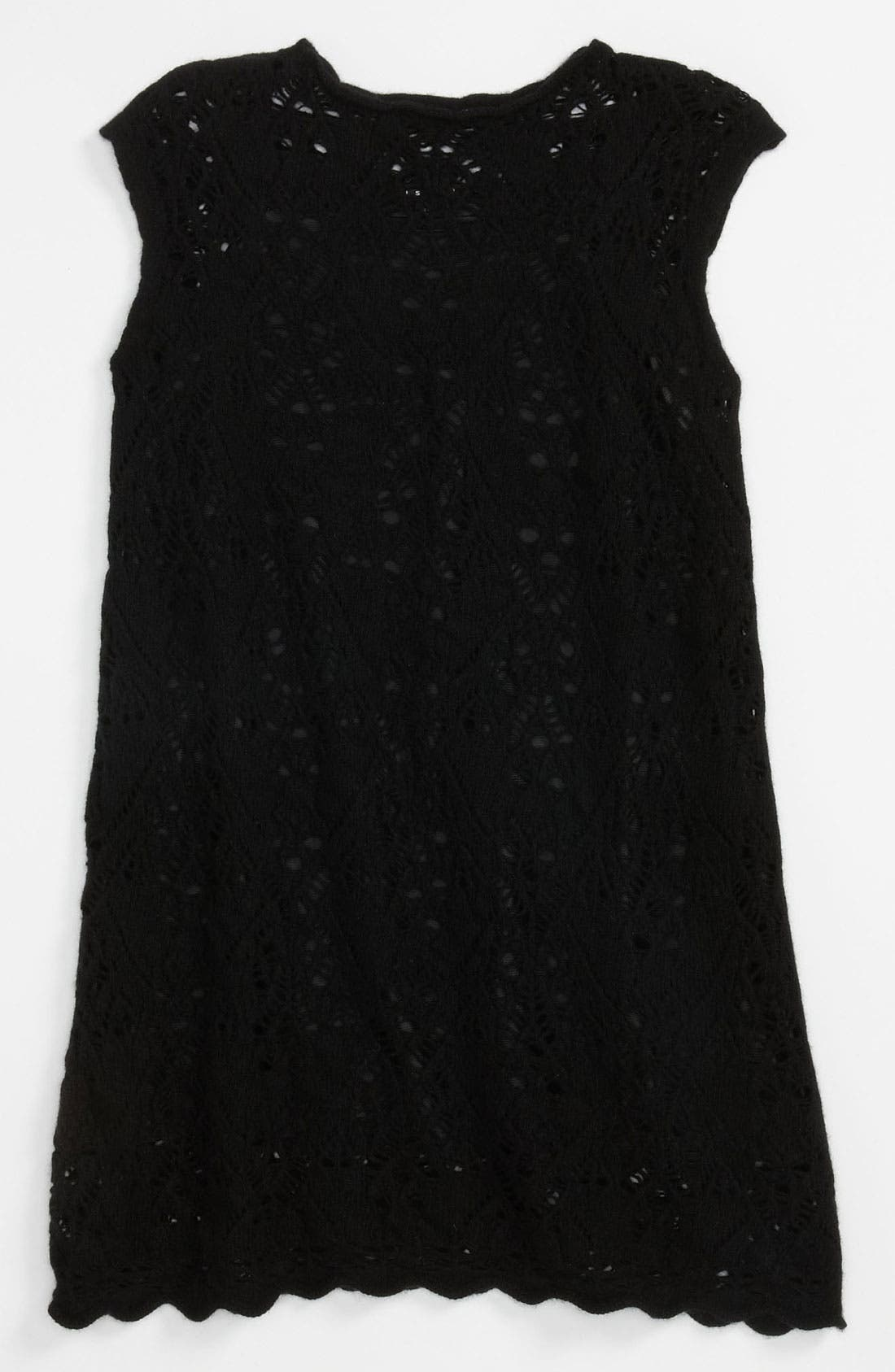 Alternate Image 1 Selected - Sisley Young Pointelle Knit Dress (Big Girls)