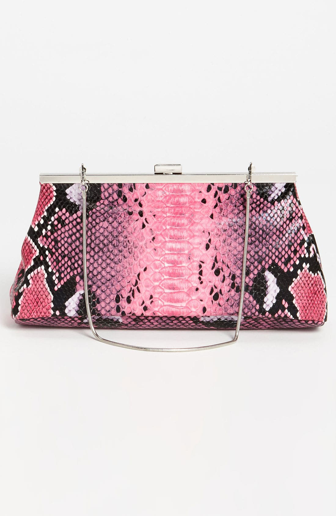 Alternate Image 4  - Natasha Couture Snake Print Clutch