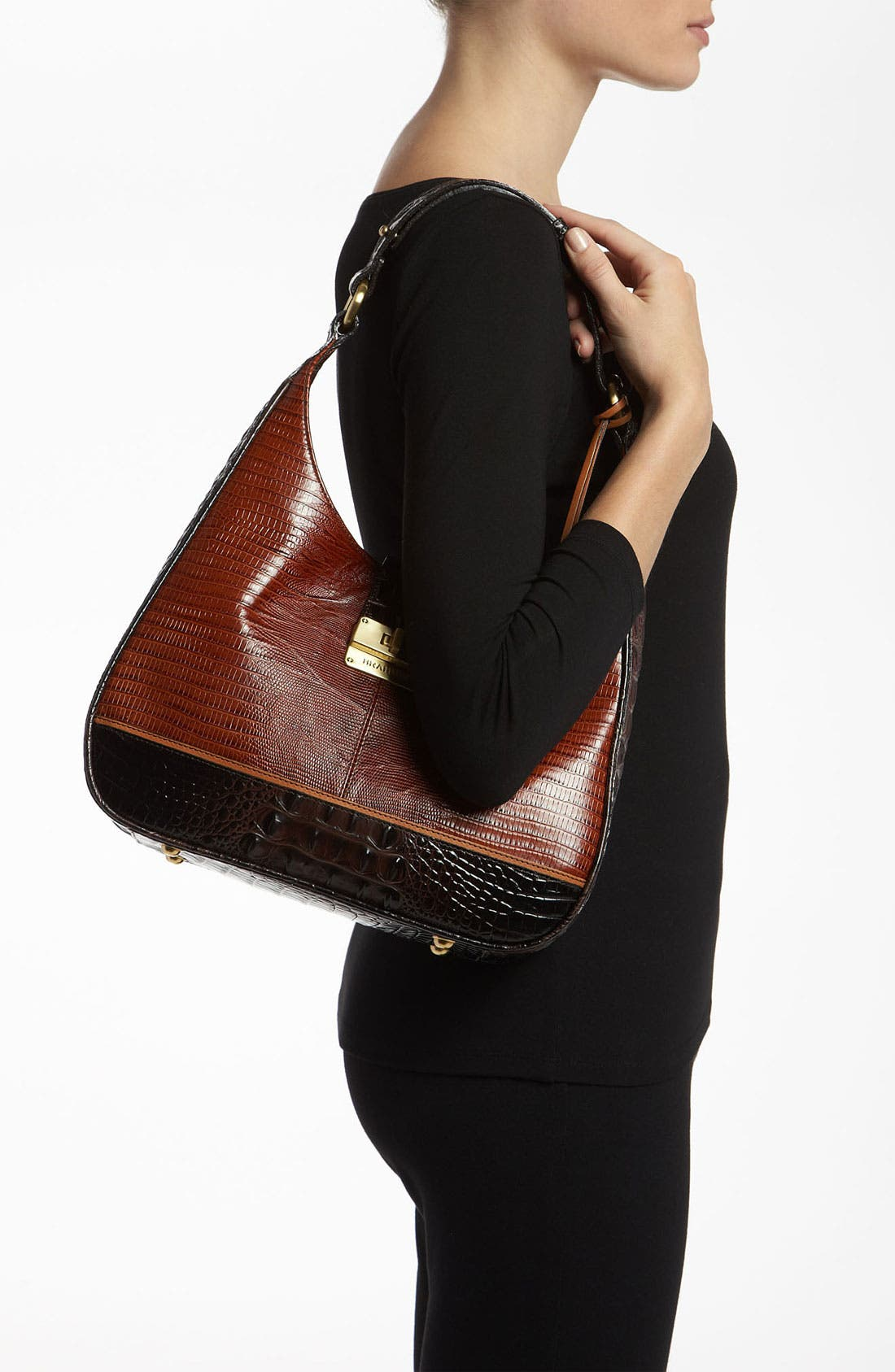 Alternate Image 2  - Brahmin 'Tri-Texture Quinn' Shoulder Bag