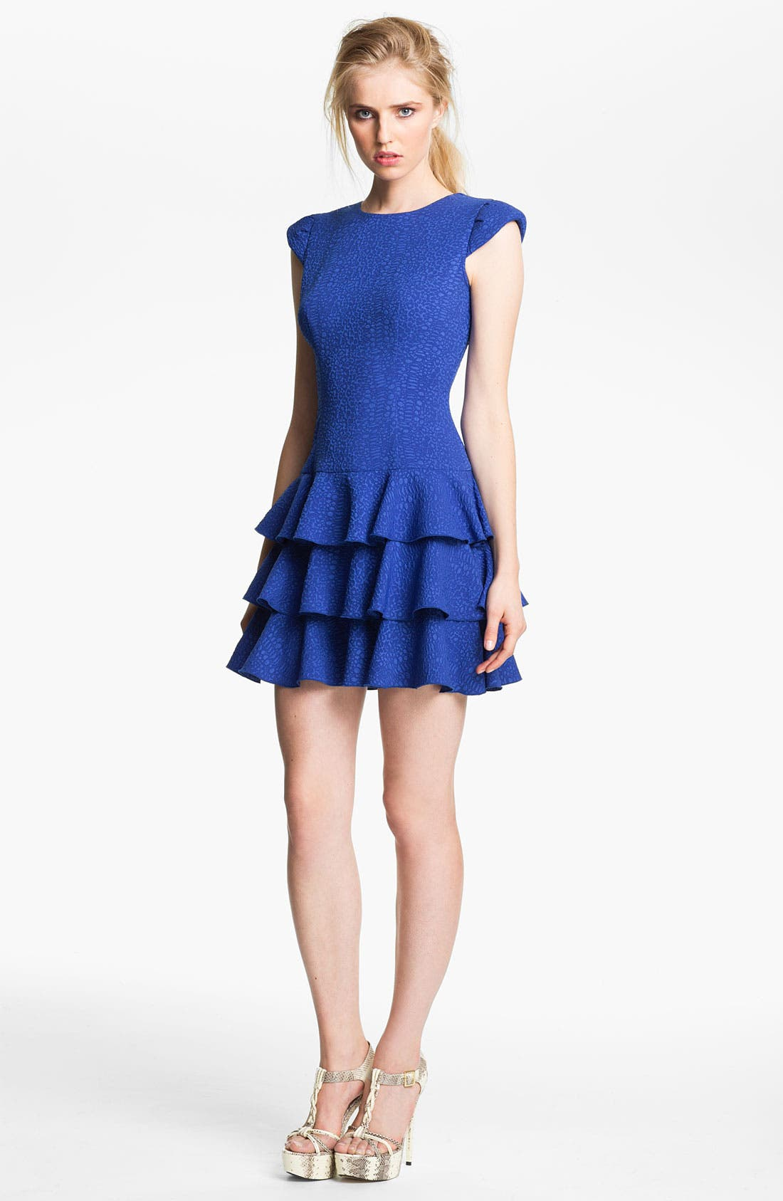 Alternate Image 1 Selected - Rachel Zoe Cutout Back Dress
