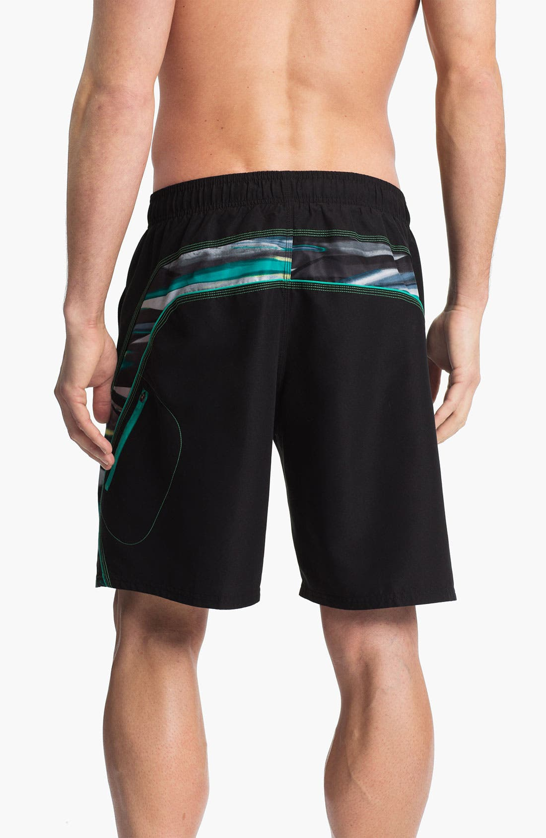Alternate Image 2  - Nike 'Laser Stripes Splice' Volley Shorts