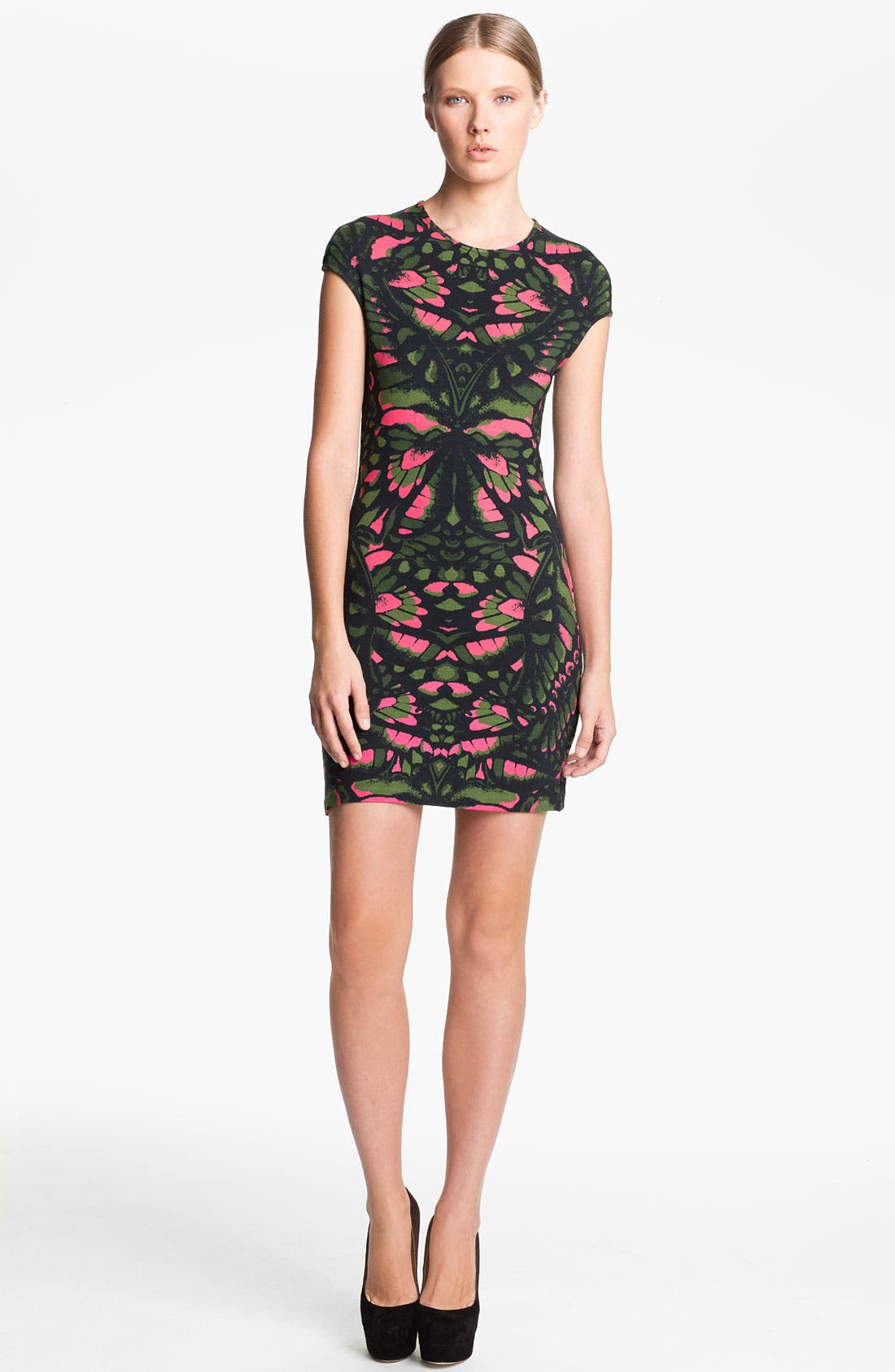 Main Image - McQ by Alexander McQueen Cap Sleeve Dress