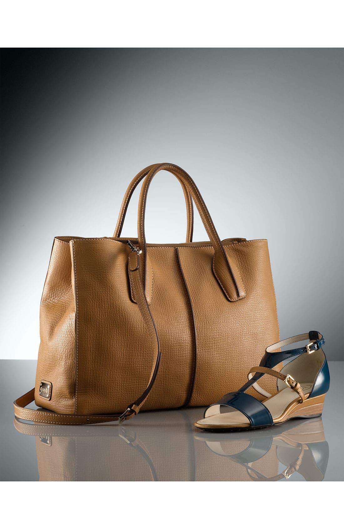 Alternate Image 5  - Tod's 'D-Styling - Medium' Leather Shopper