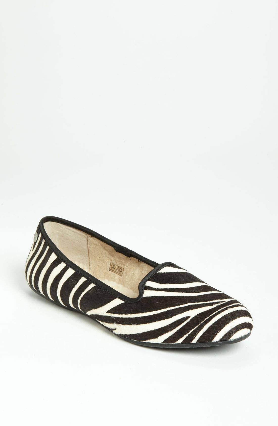 Alternate Image 1 Selected - UGG® Australia 'Alloway Exotic' Slipper (Women)