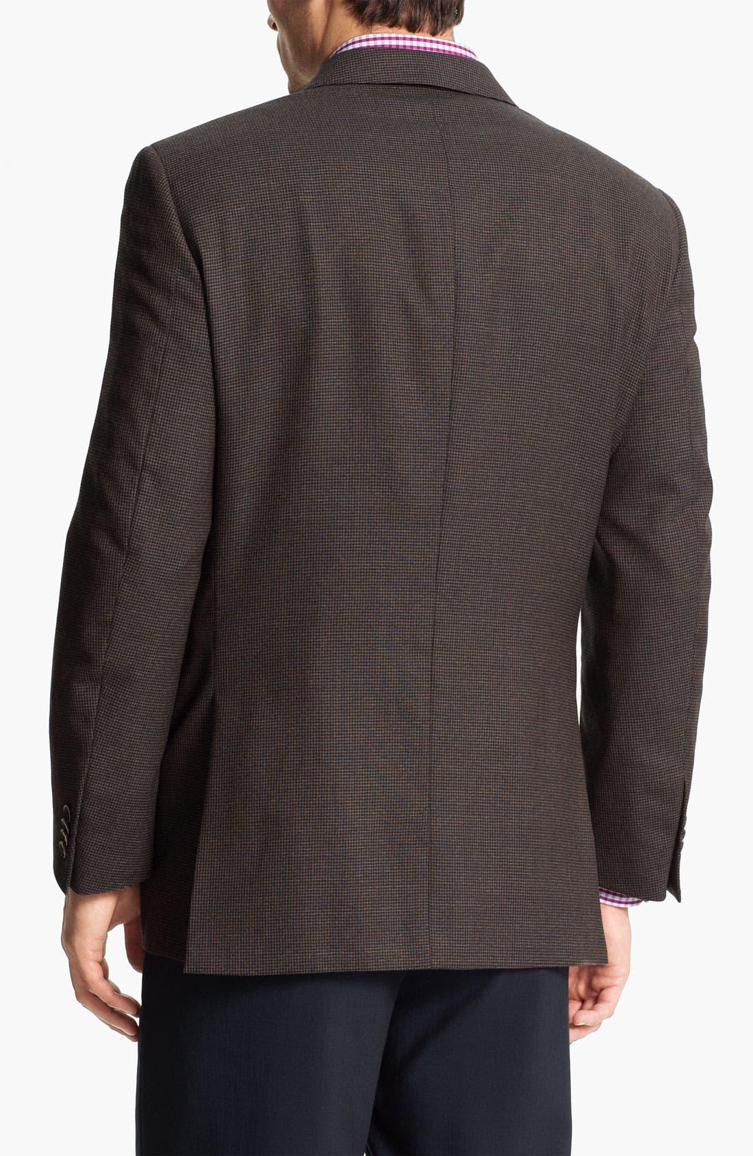 Alternate Image 2  - Peter Millar Houndstooth Sportcoat