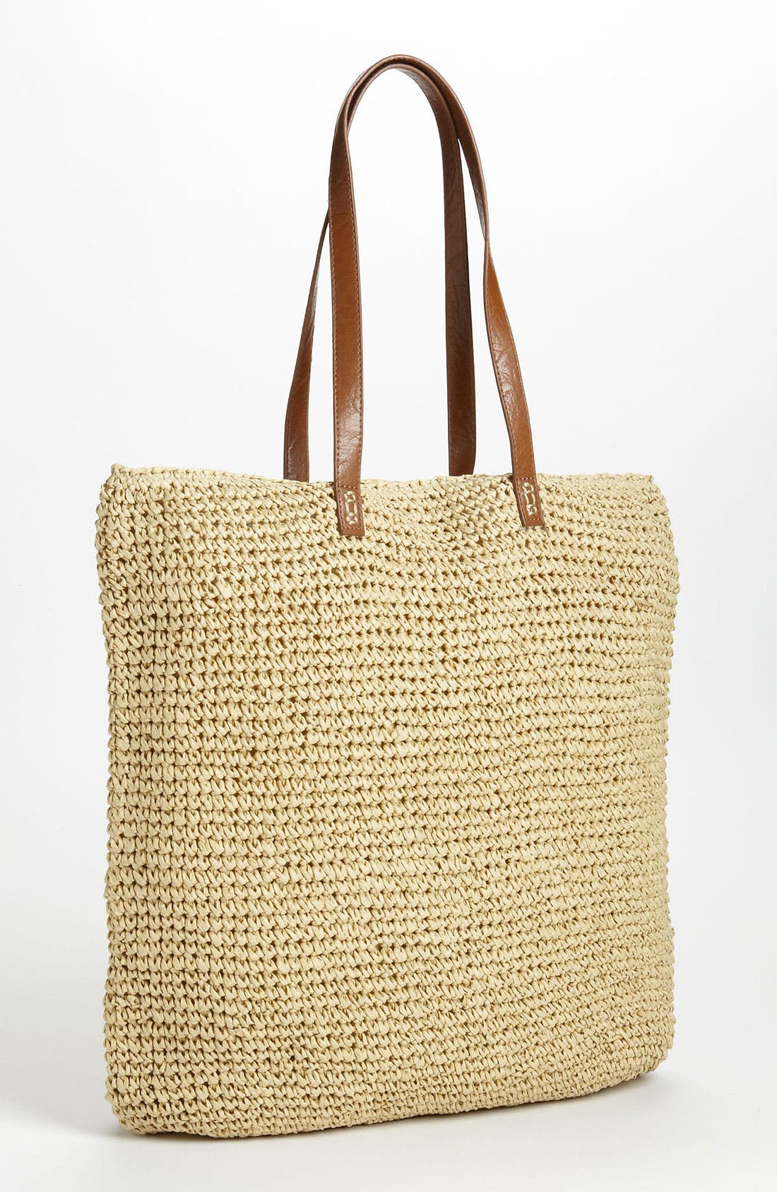 Alternate Image 1 Selected - Straw Studios 'North South' Straw Tote