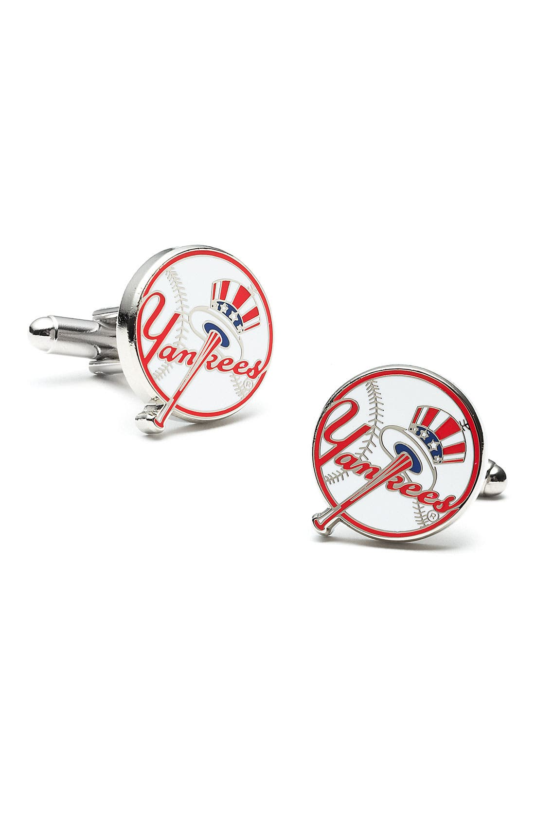 Alternate Image 1 Selected - Cufflinks, Inc. 'New York Yankees' Cuff Links