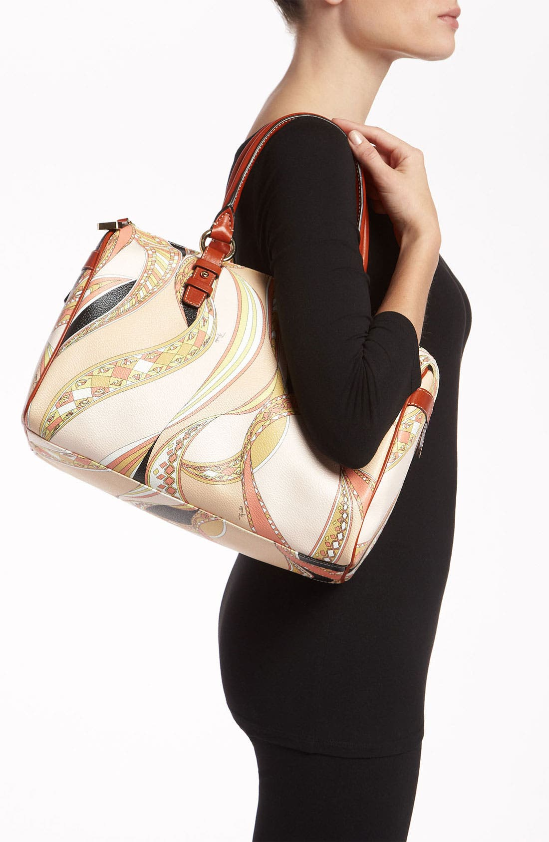 Alternate Image 2  - Emilio Pucci 'Large' Boston Bag