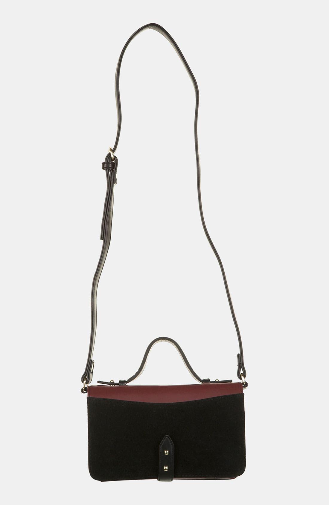 Alternate Image 2  - Topshop Stud Detail Crossbody Bag