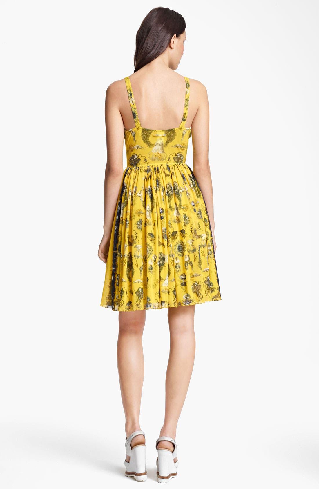 Alternate Image 2  - Jean Paul Gaultier Fuzzi 'Fruit de la Mer' Print Tulle Dress