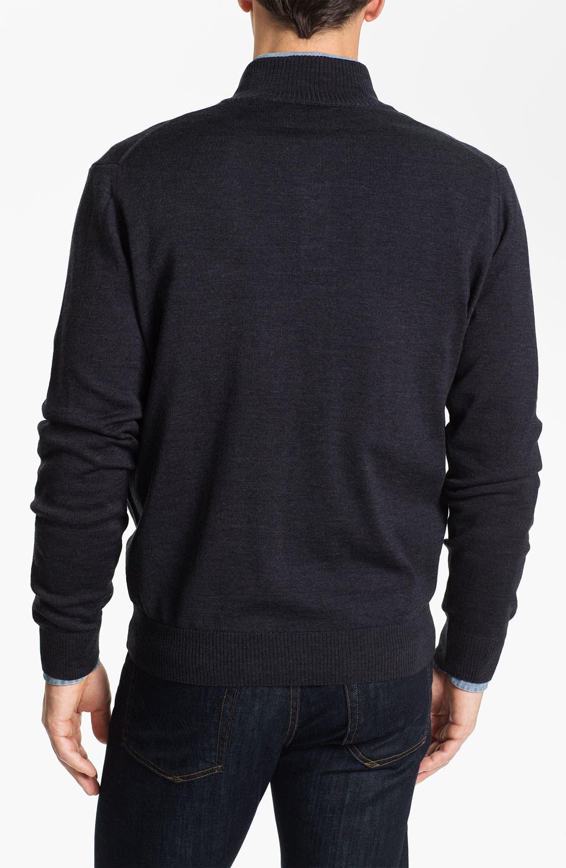 Alternate Image 2  - Thomas Dean 'Oklahoma State' Wool Sweater