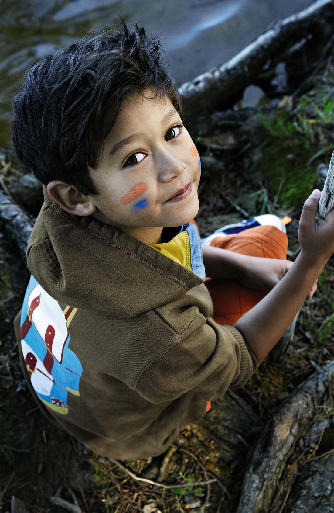 Alternate Image 2  - Mini Boden 'Explorer' Hoodie (Toddler, Little Boys & Big Boys)