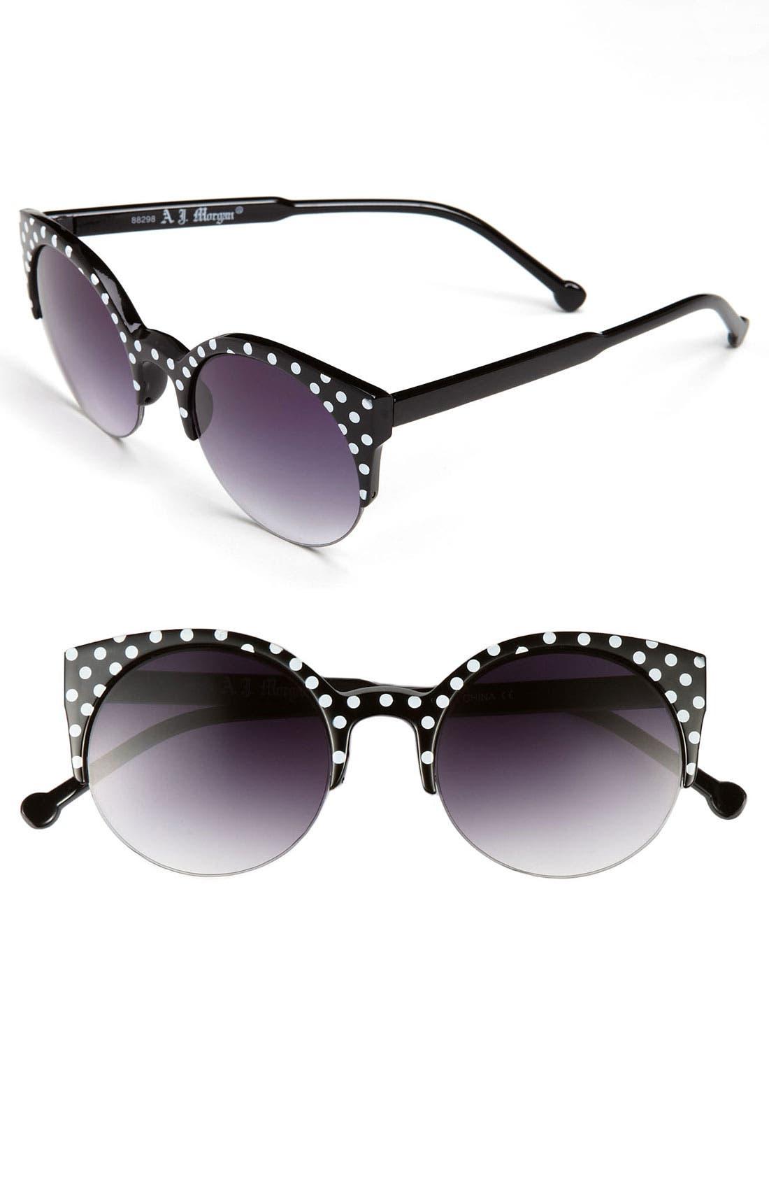 Main Image - A.J. Morgan 52mm Retro Sunglasses