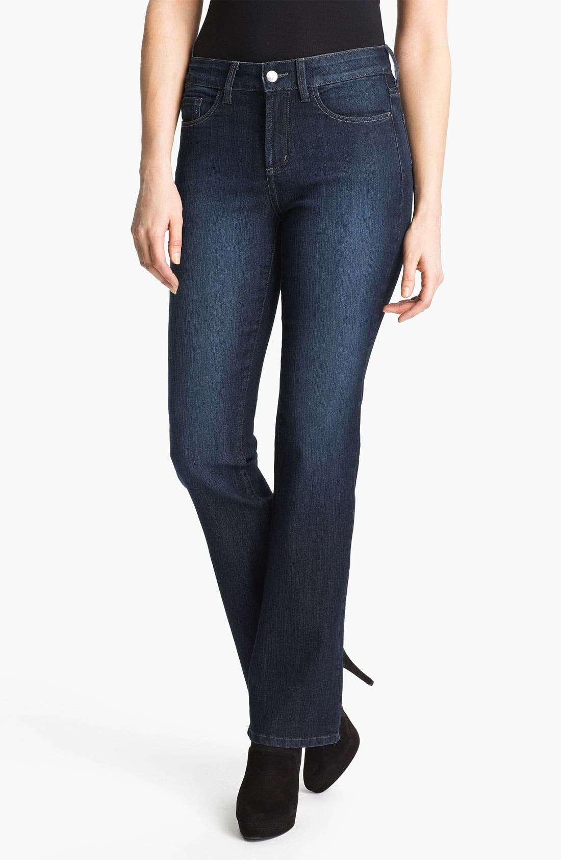Main Image - NYDJ 'Barbara' Embellished Bootcut Jeans