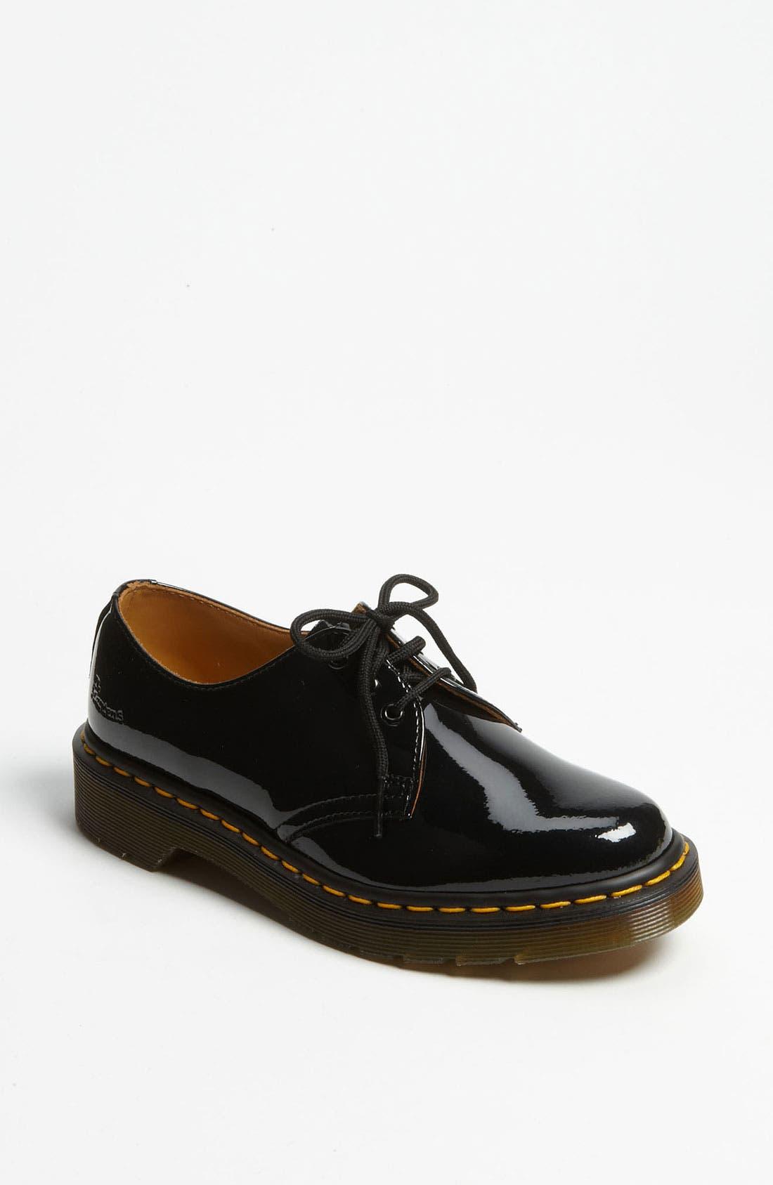 3-Eye Oxford,                         Main,                         color, Black Patent