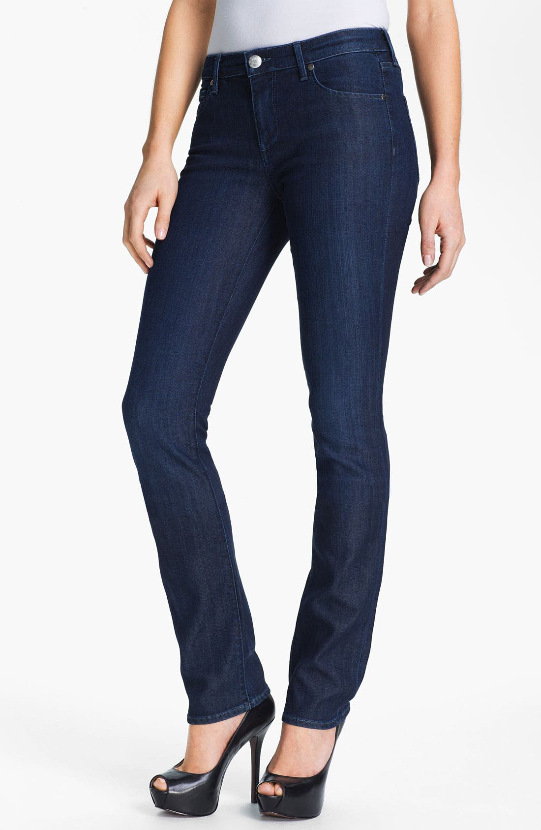 Alternate Image 1 Selected - Agave 'Athena' Straight Leg Jeans (Sea Shore) (Online Exclusive)