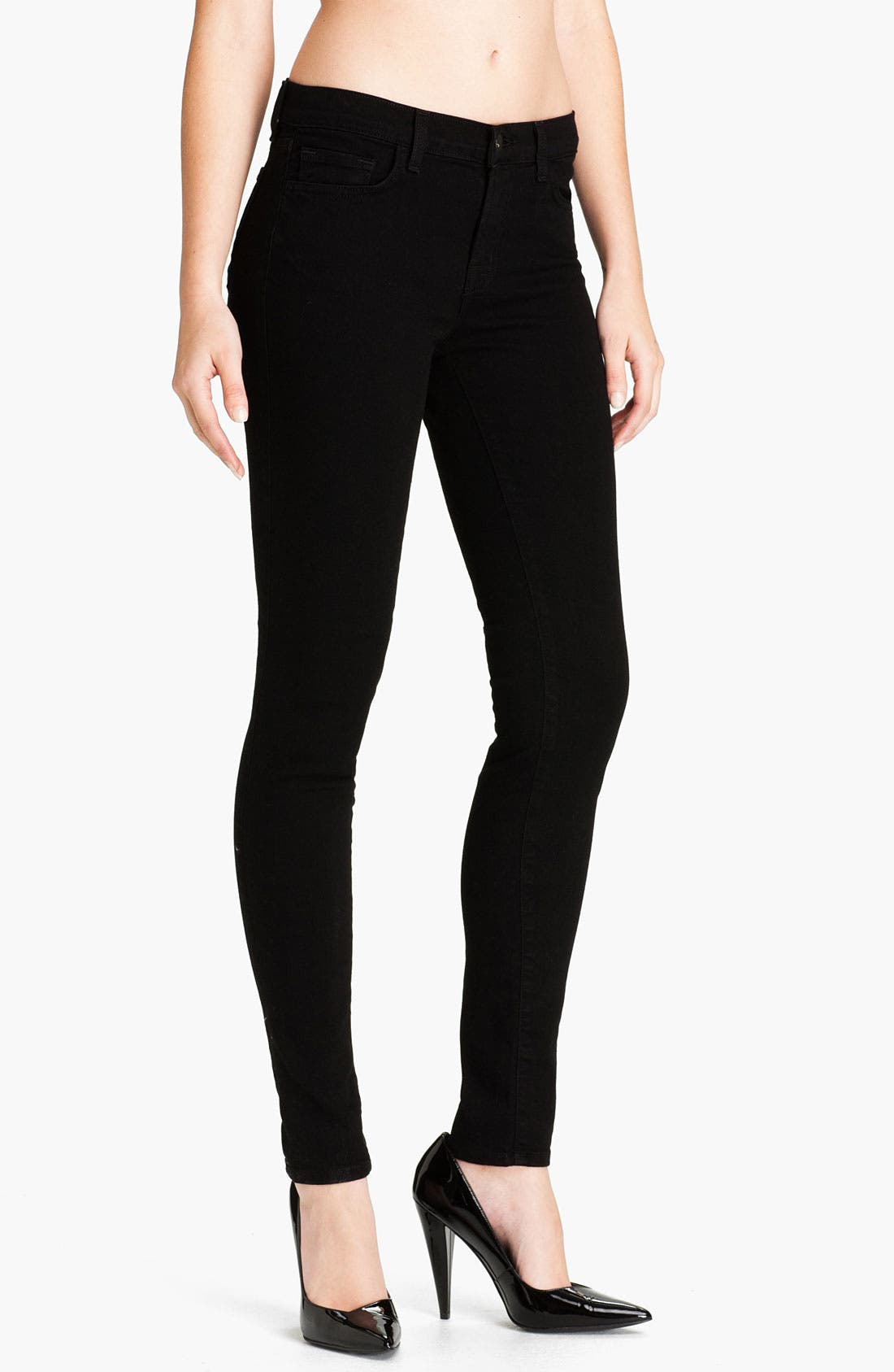 Alternate Image 1 Selected - J Brand Skinny Stretch Ankle Jeans (Shadow)
