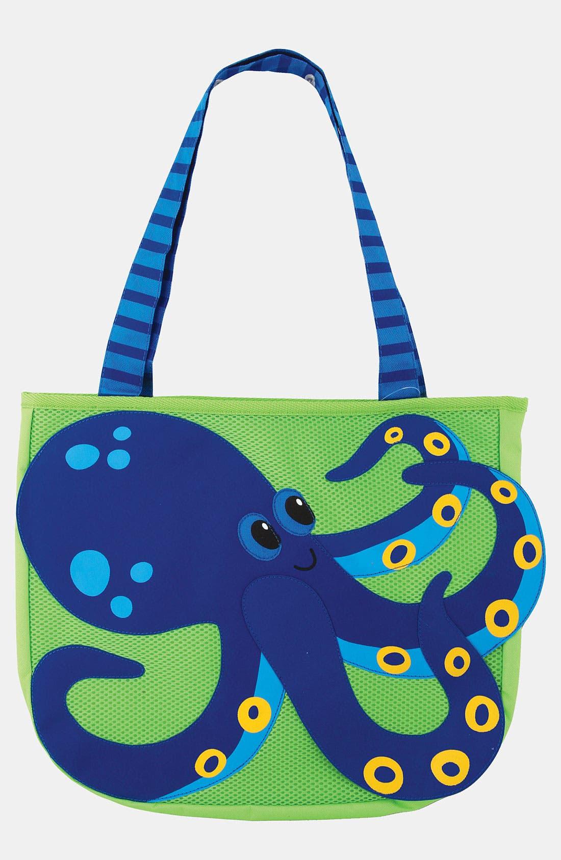 Main Image - Stephen Joseph 'Octopus' Beach Tote & Toys