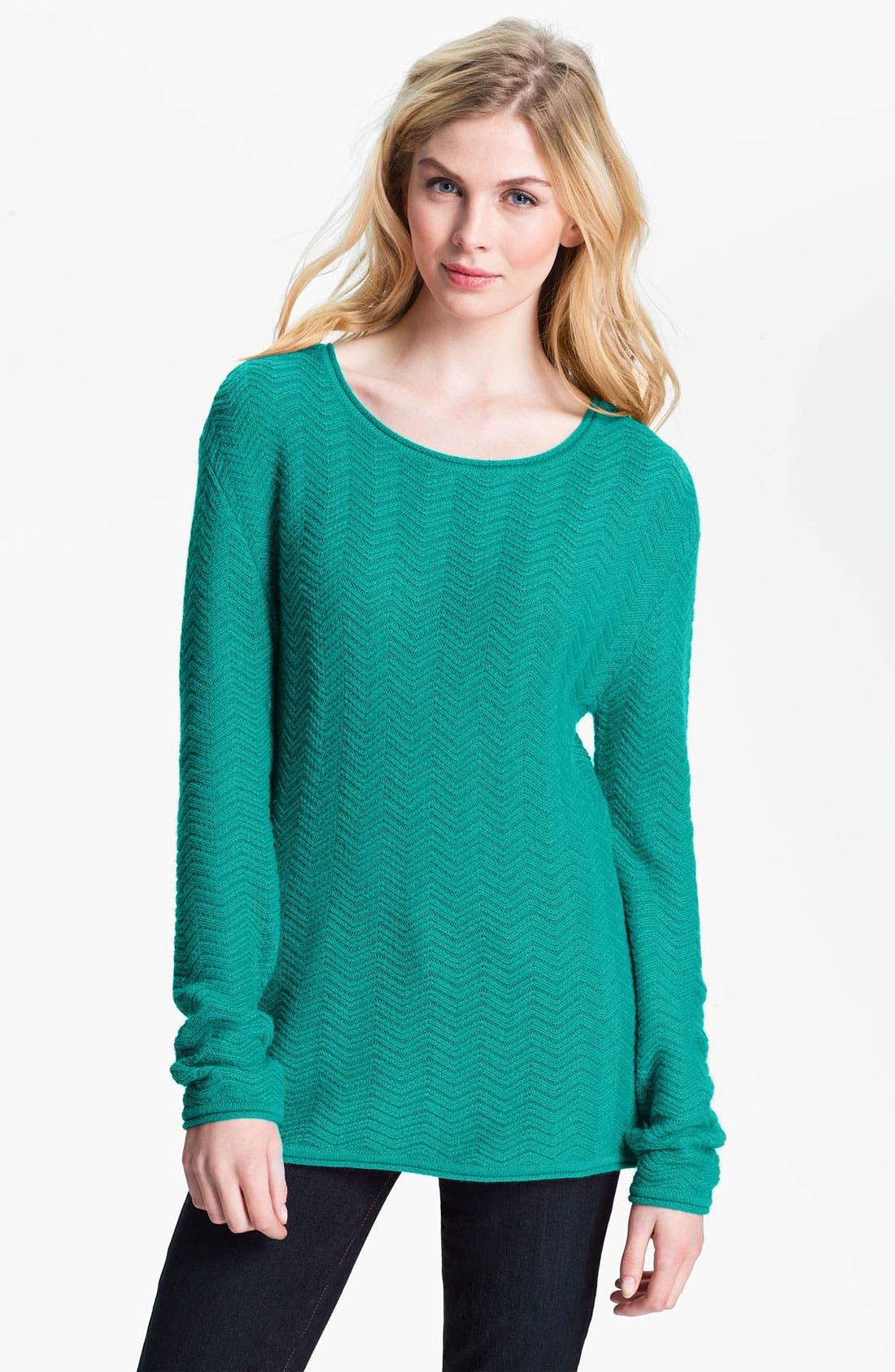Alternate Image 1 Selected - Amber Sun 'Flora' Tunic Sweater