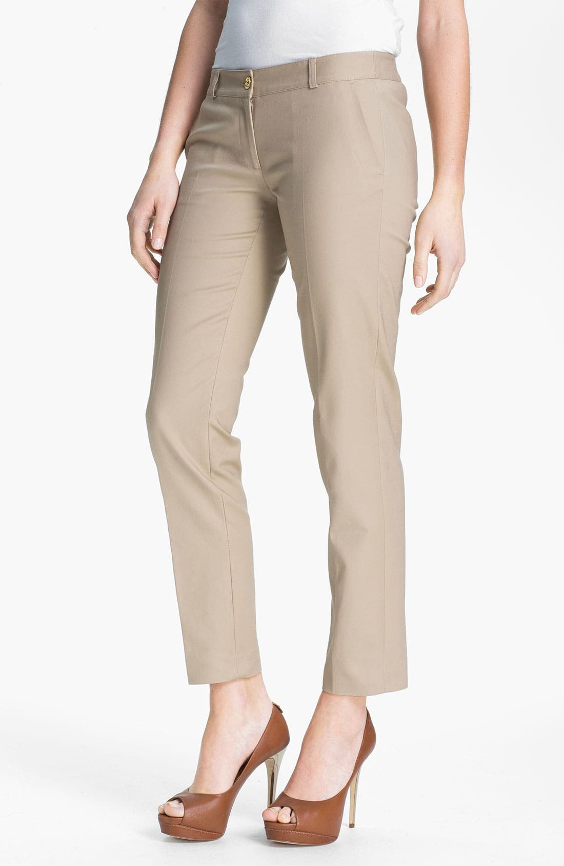 Main Image - MICHAEL Michael Kors Skinny Ankle Pants (Regular & Petite)