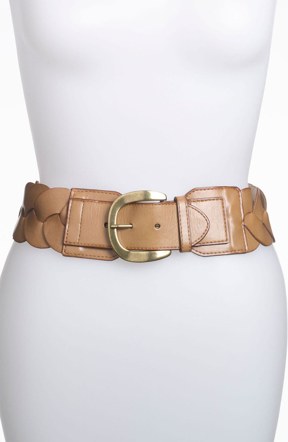 Alternate Image 1 Selected - Steven by Steve Madden Braided Stretch Belt