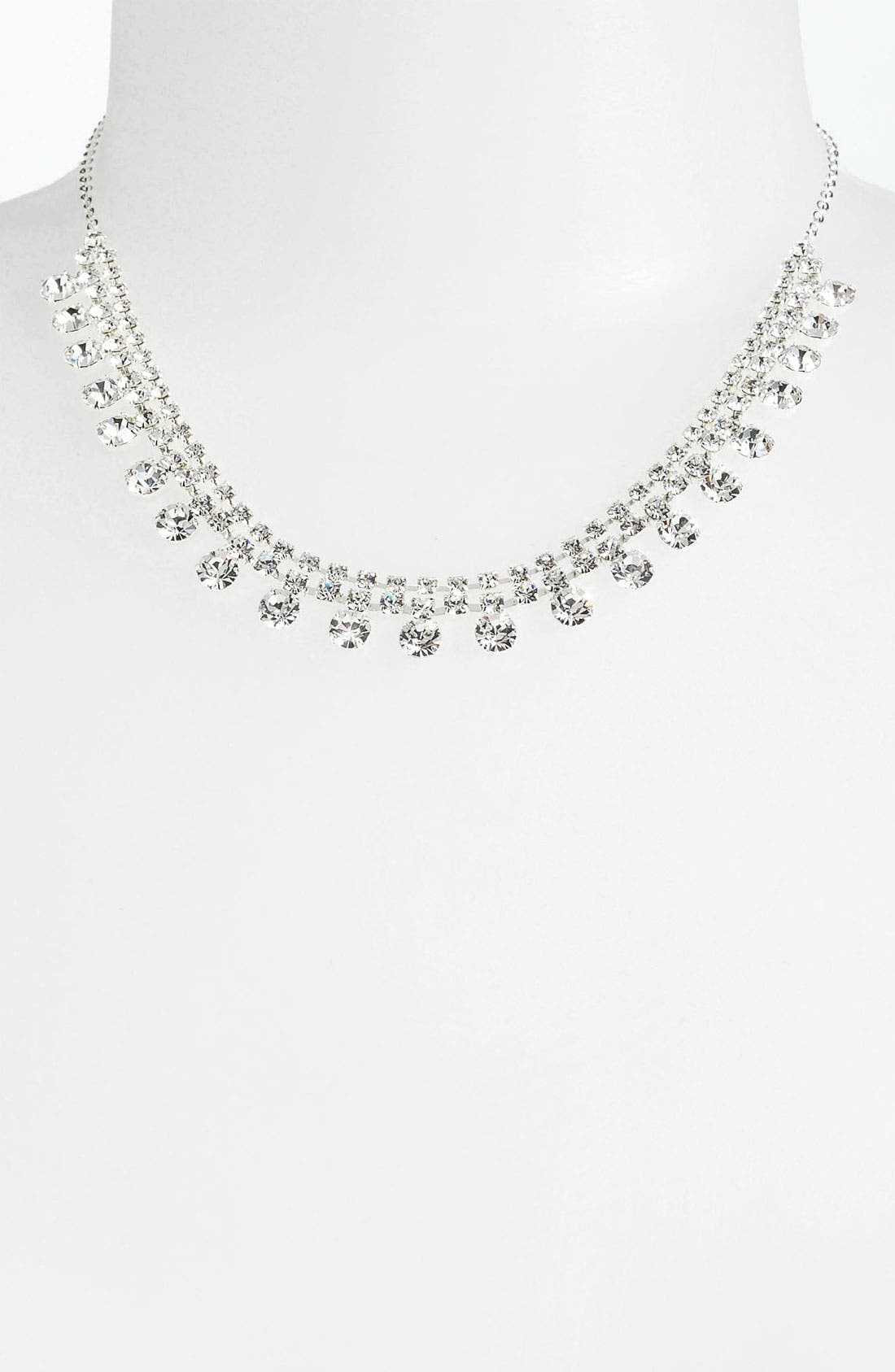 Alternate Image 2  - Rosa Crystal Collection Jewelry 'Shaky' Collar Necklace