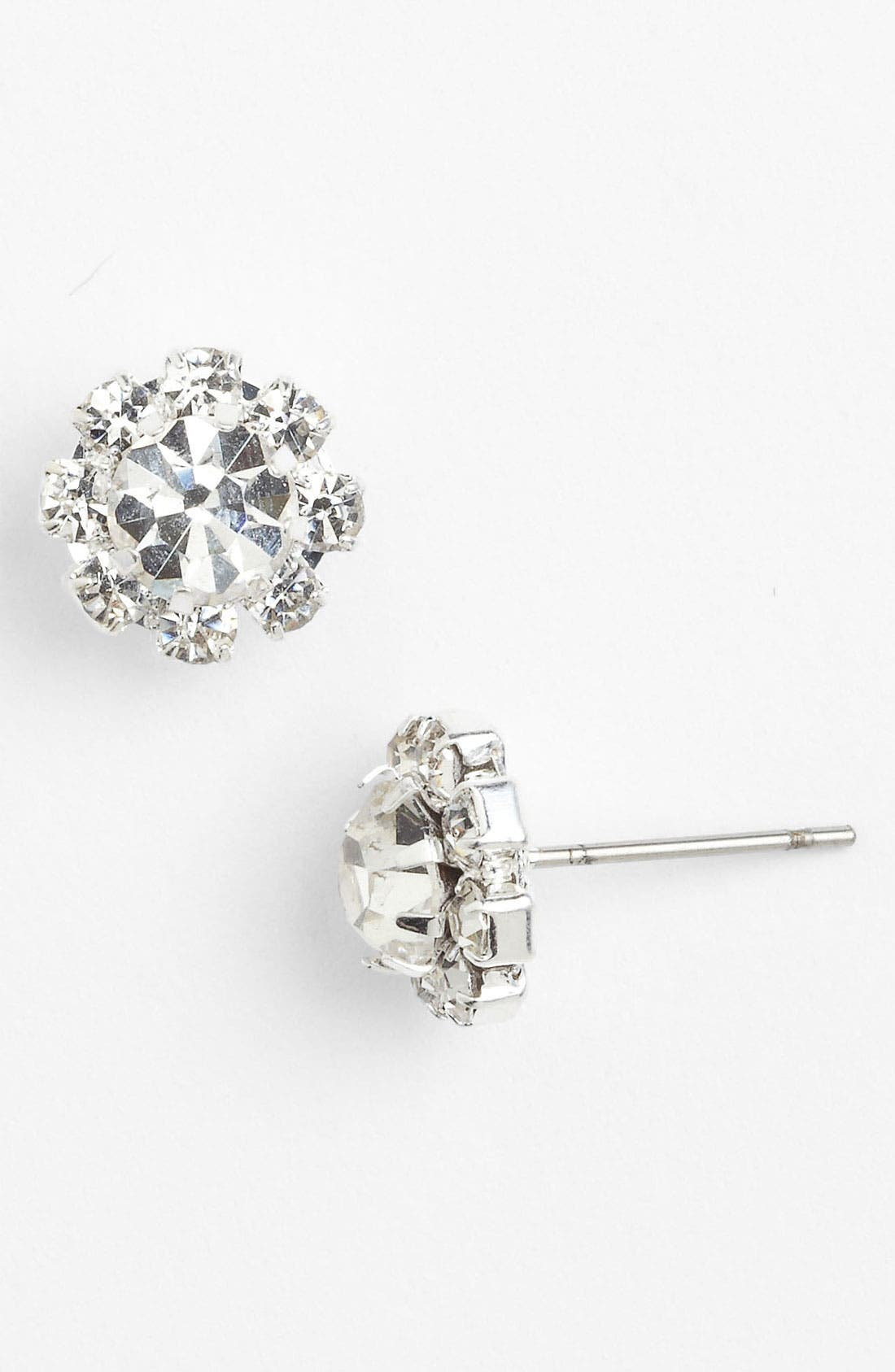 Main Image - Rosa Crystal Collection Jewelry Stud Earrings