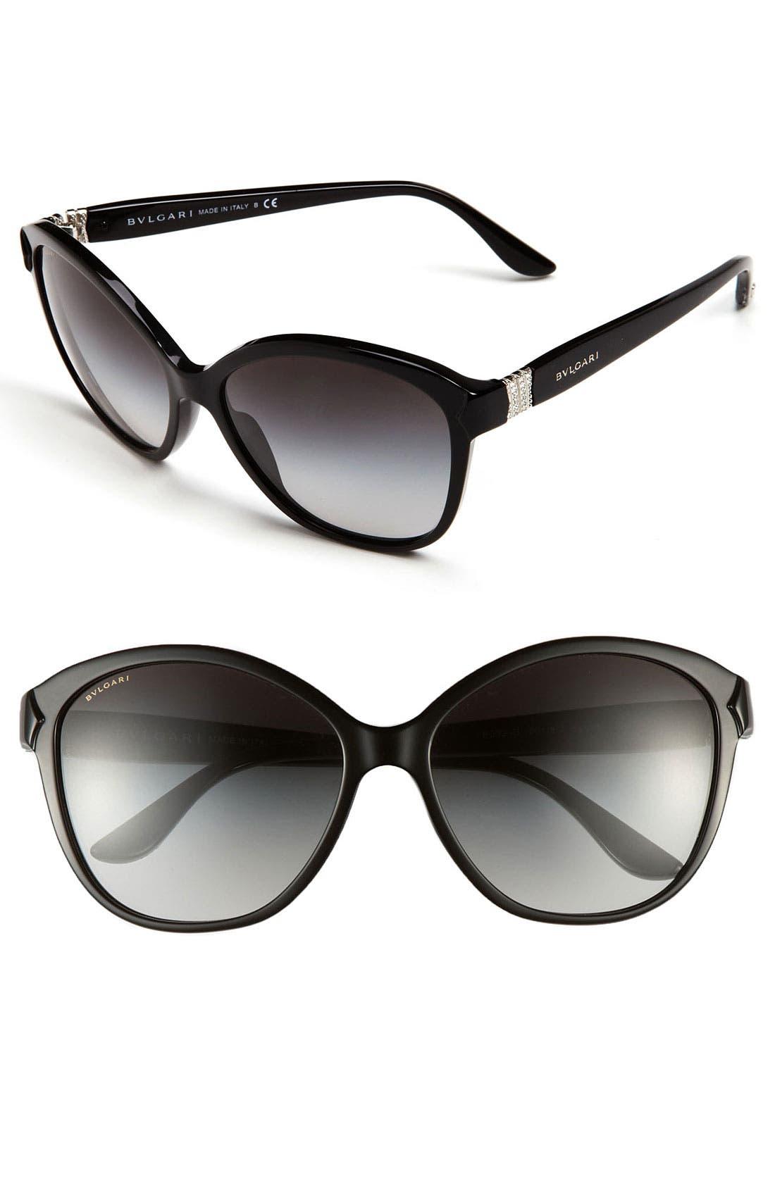 Main Image - Dior 56mm Cat Eye Sunglasses