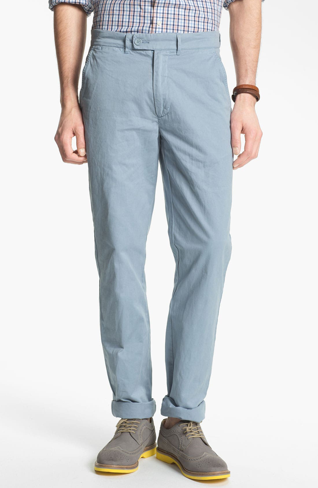 Alternate Image 1 Selected - Grayers 'Alex' Flat Front Pants